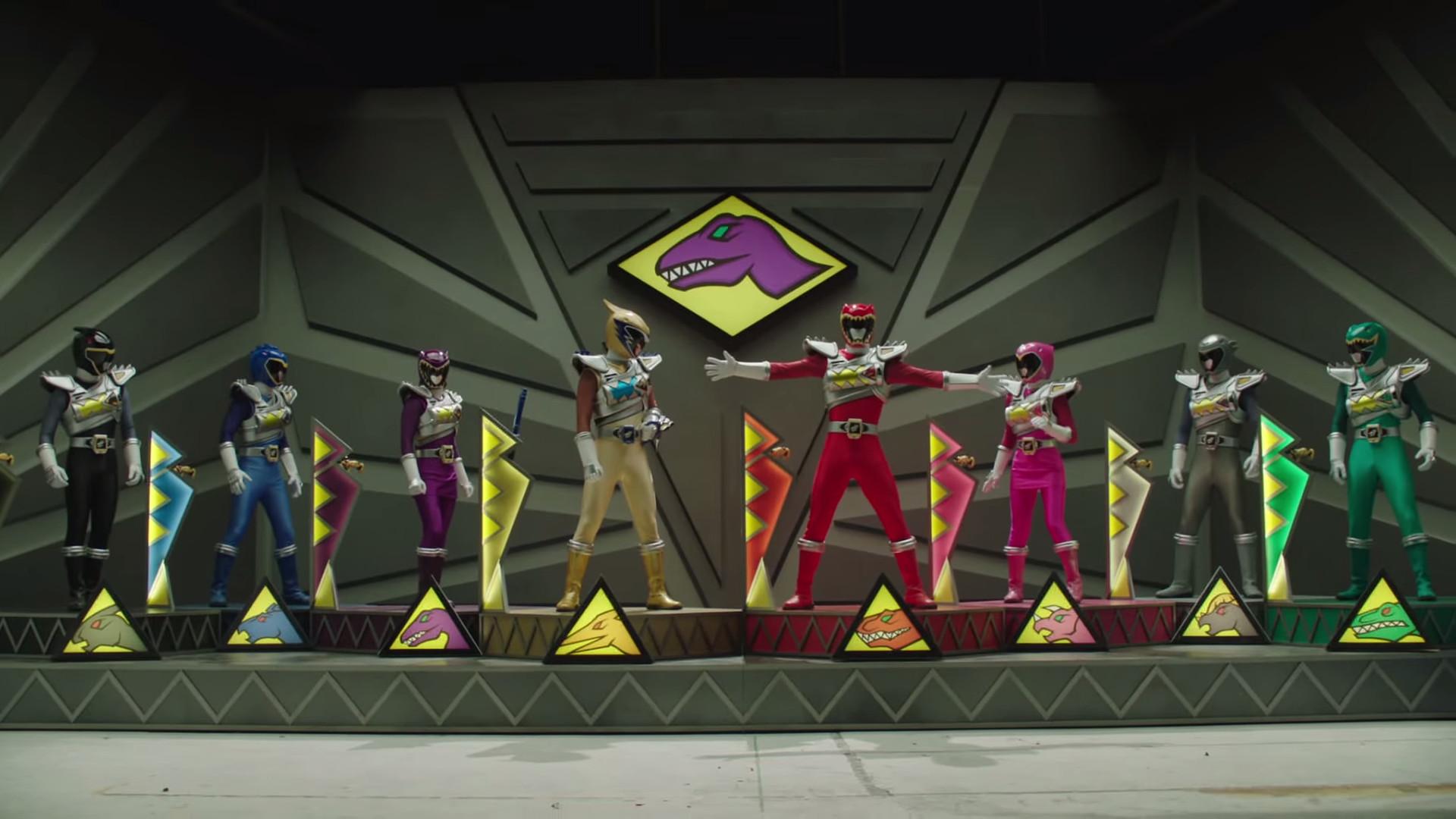 Dino Charge Rangers, Dino Drive Mode. Power Rangers Dino Charge is the 22nd  season
