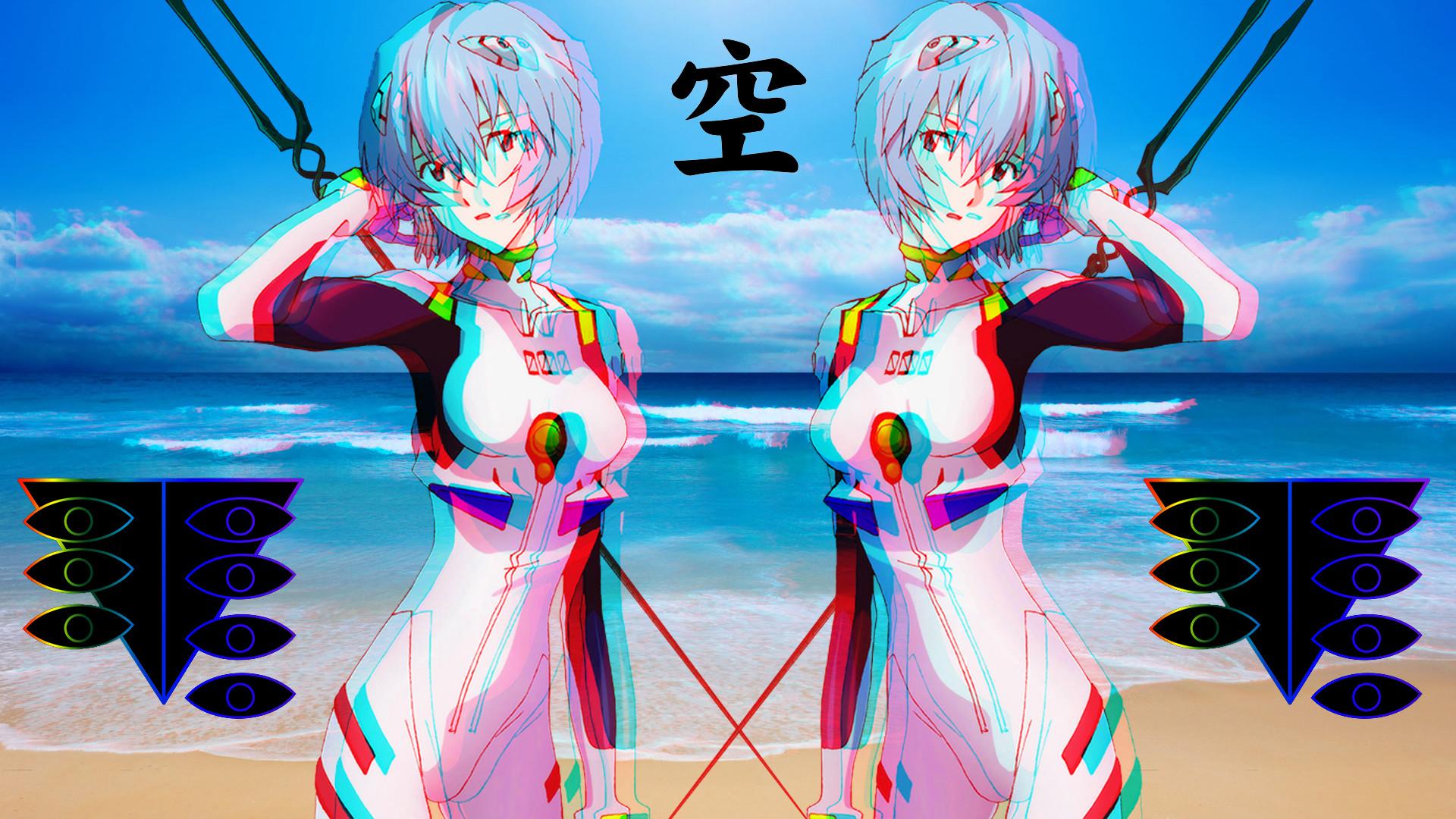 Anime – Neon Genesis Evangelion Rei Ayanami Spear of Longinus Wallpaper