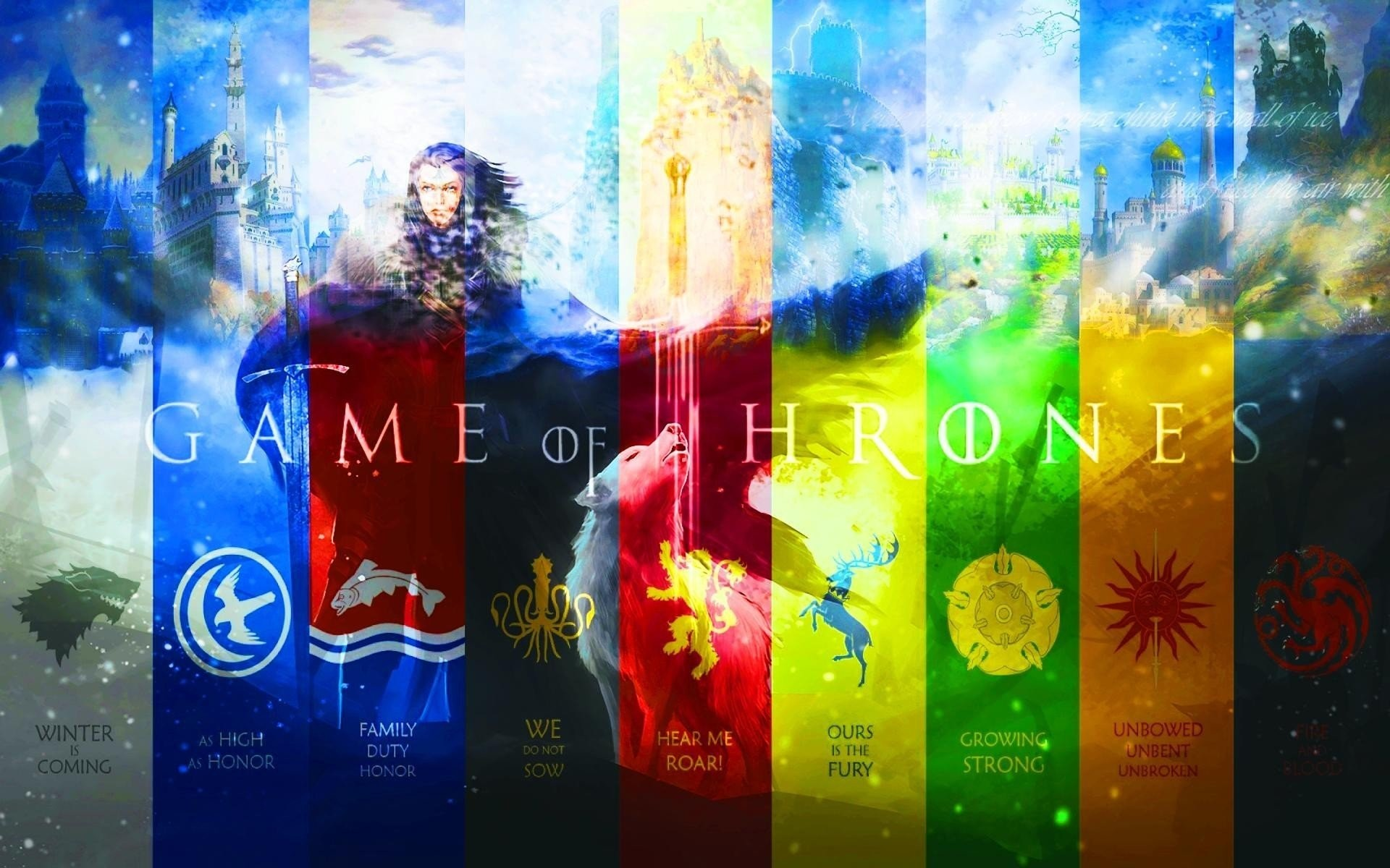 Game Of Thrones Houses 787441