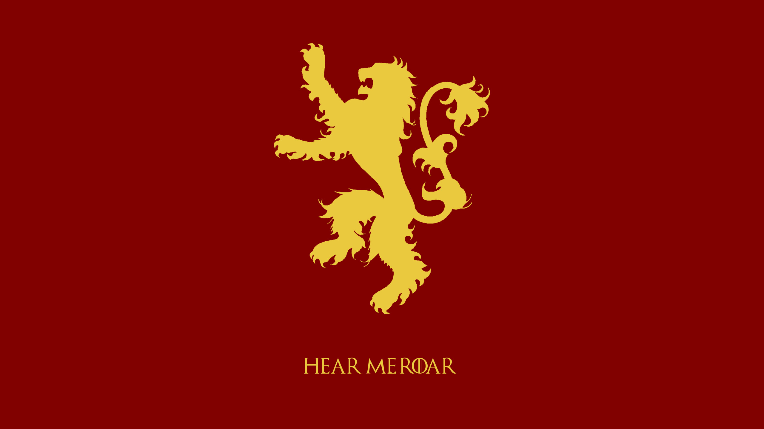Game of Thrones Wallpapers – House Sigils (2560 x 1440) – Album on Imgur
