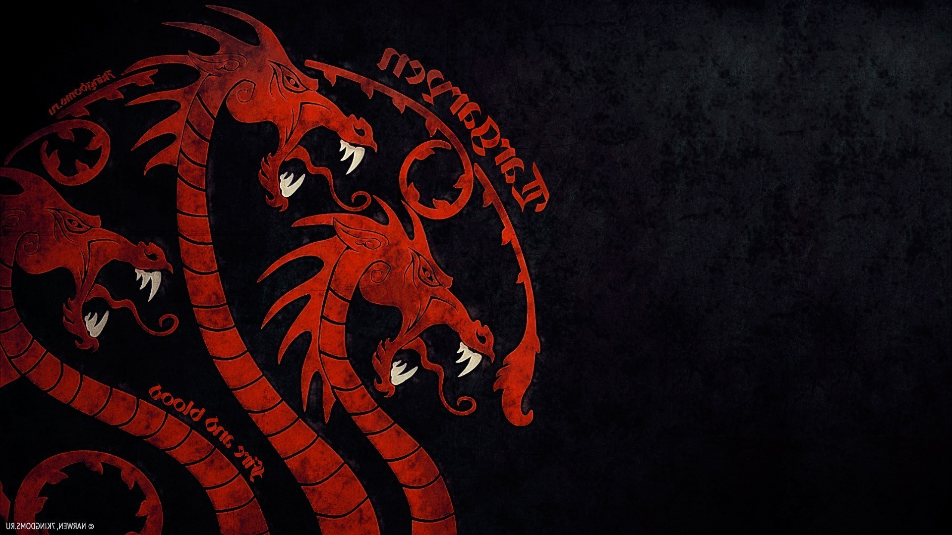Game Of Thrones, House Targaryen, Fire And Blood, Dragon, Sigils Wallpapers  HD / Desktop and Mobile Backgrounds