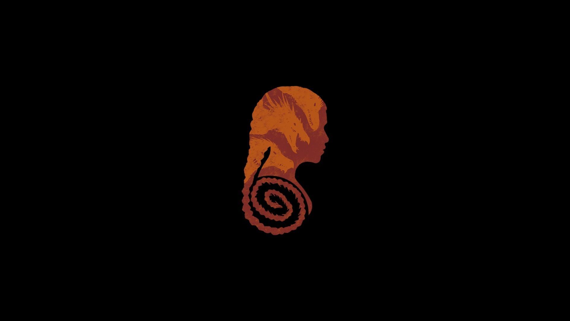 #Daenerys Targaryen, #minimalism, #Game of Thrones … Game Of