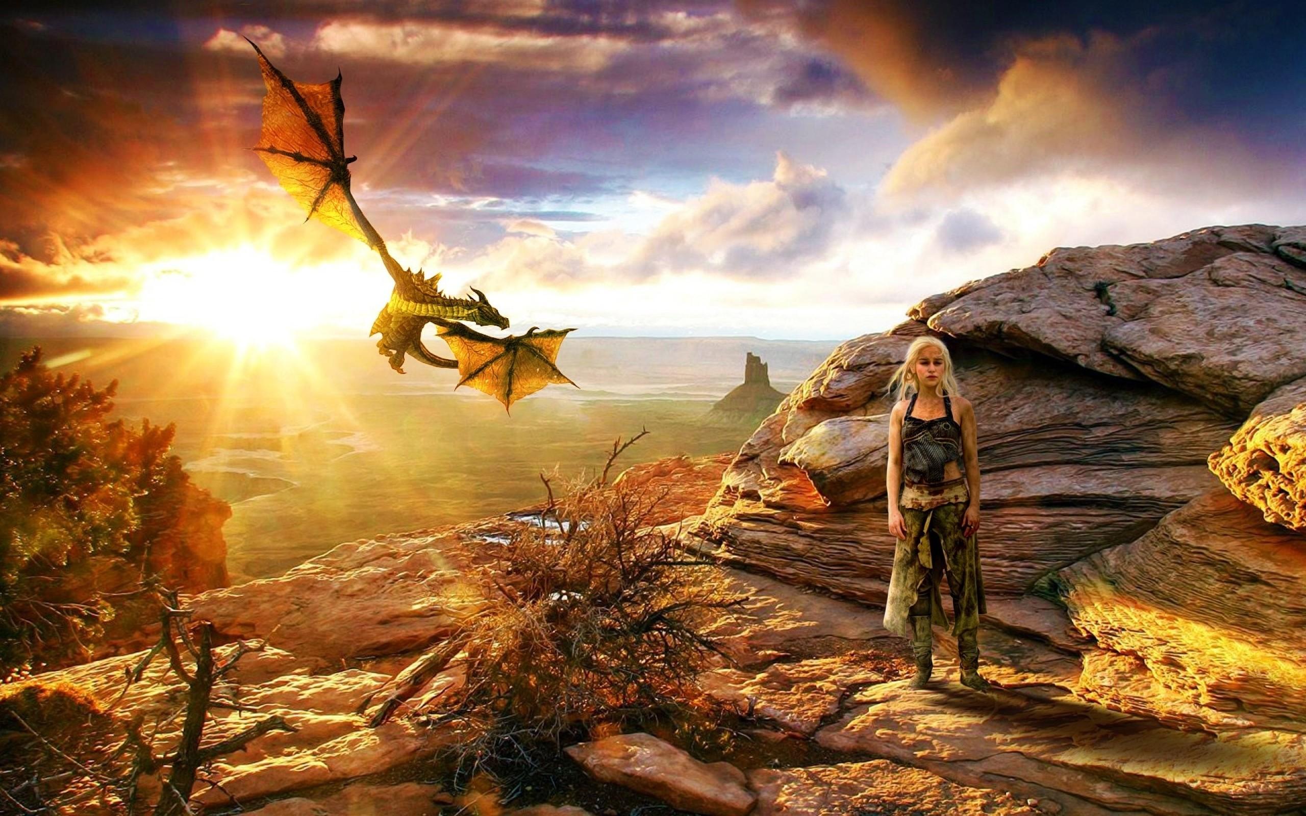 Game Of Thrones Season Daenerys Targaryen Wallpaper HD
