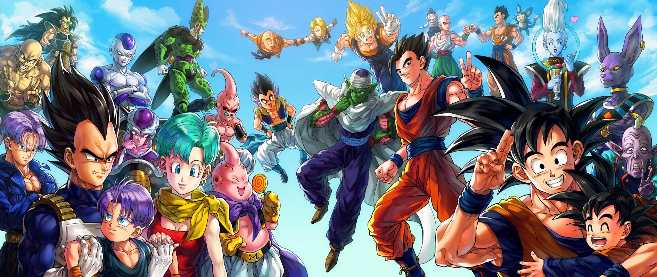 Cell Dragon Ball Z Freeza Gohan Goku Piccolo Raditz Trunks Vegeta · HD  Wallpaper   Background ID:647552