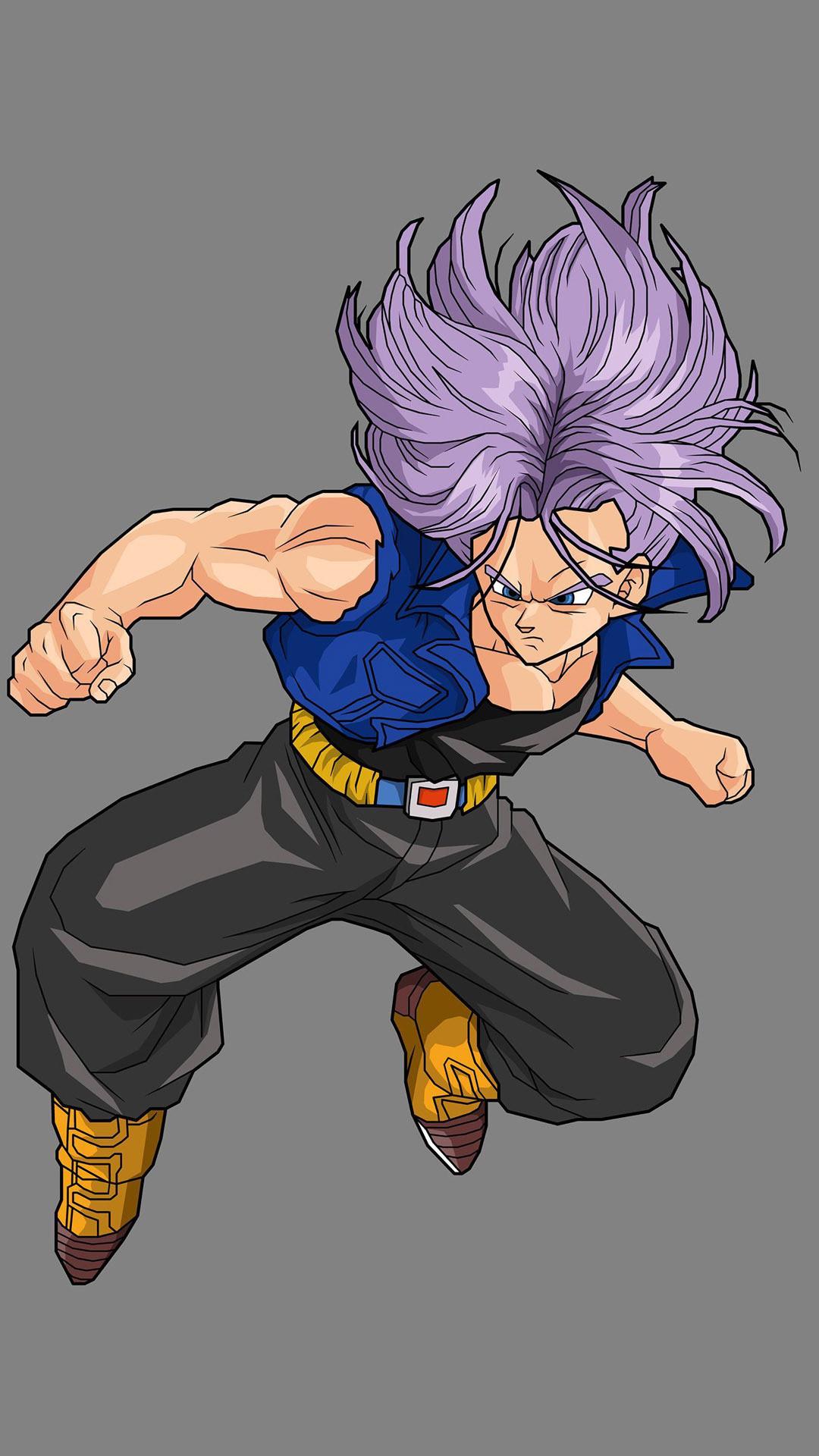 … Trunks – Dragon Ball Z Anime mobile wallpaper