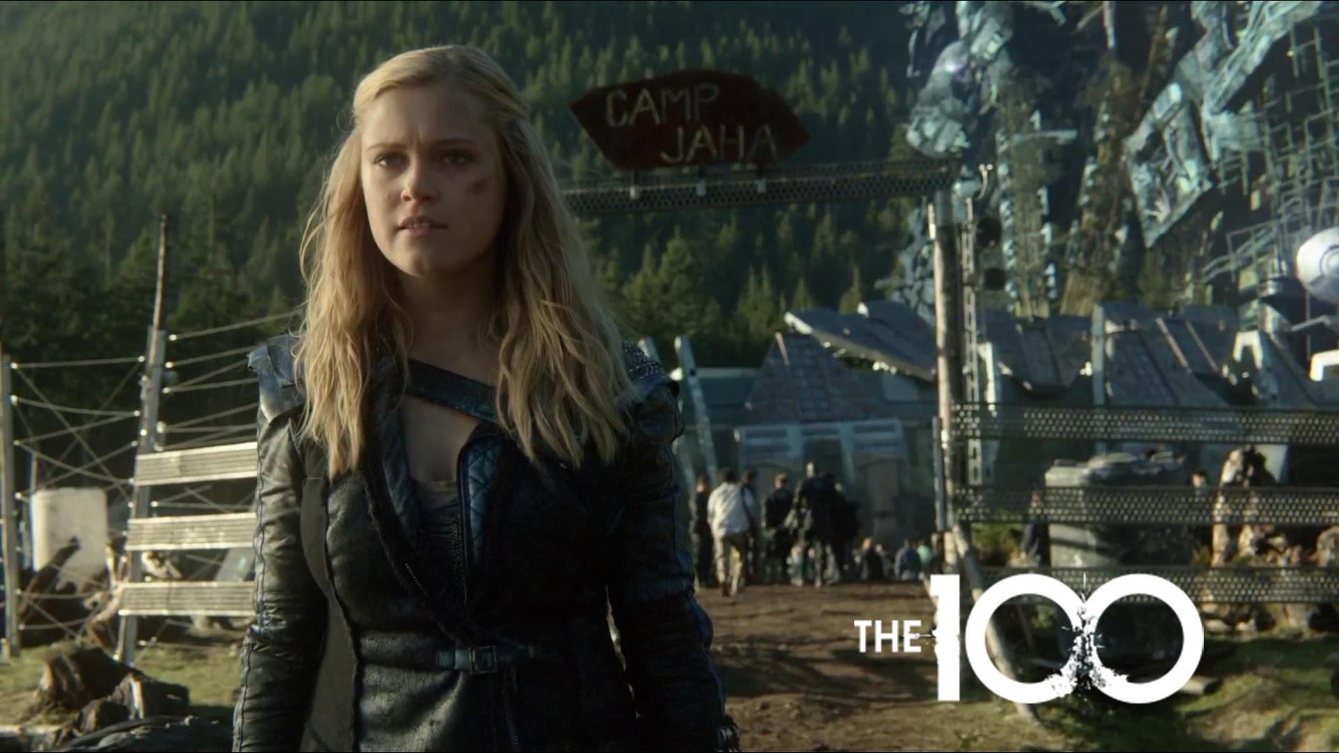The 100 Season 2 Ending (Bellamy and Clarke) (1080p WEB DL)
