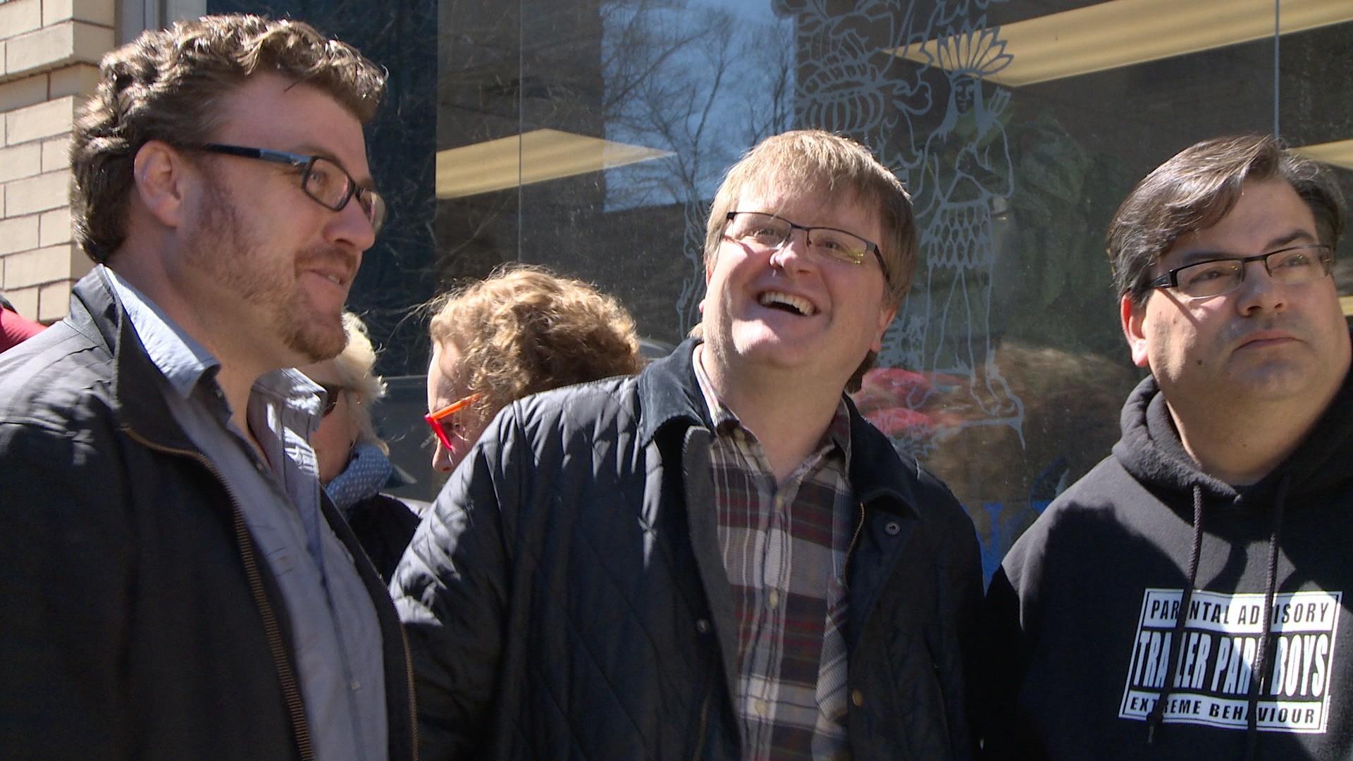 … Trailer Park Boys at rally to save Nova Scotia film industry …