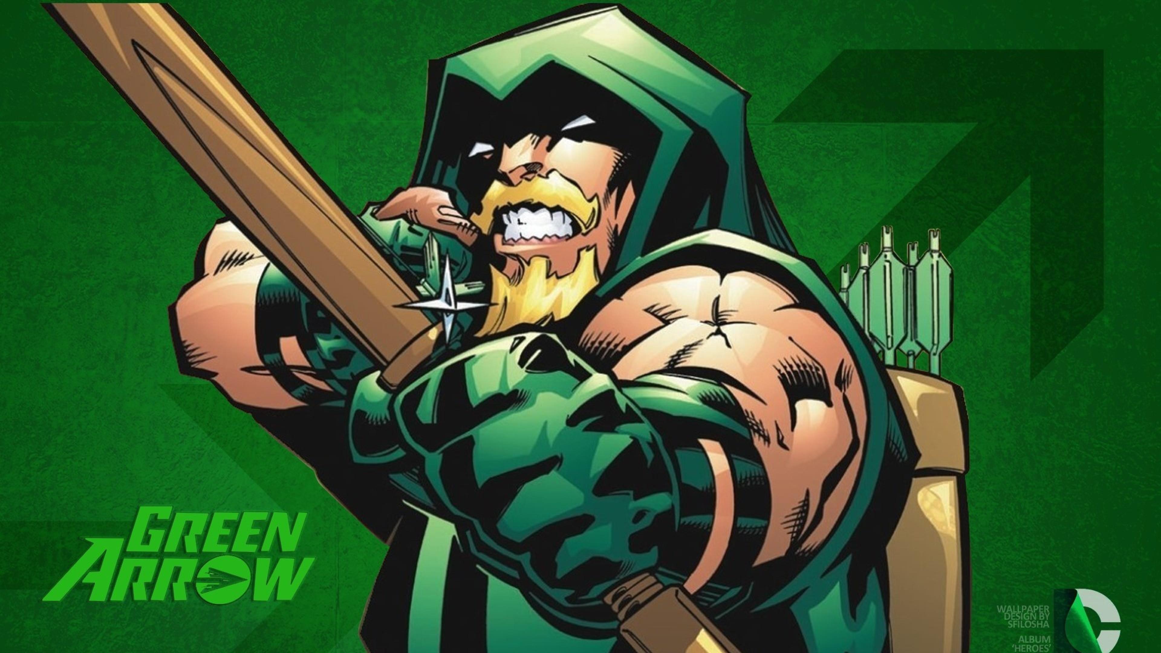 Wallpaper green arrow, more fun comics, dc comics