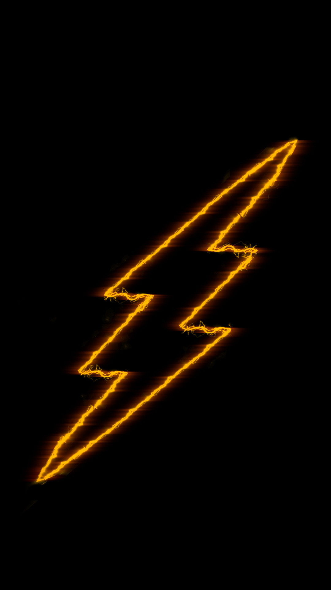 The Flash Logo Wallpaper Free Custom Made iPhone wallpaper. Not for  reupload unless this page is linked.