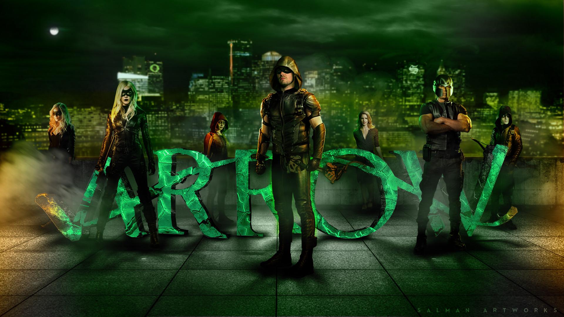 Arrow CW Background