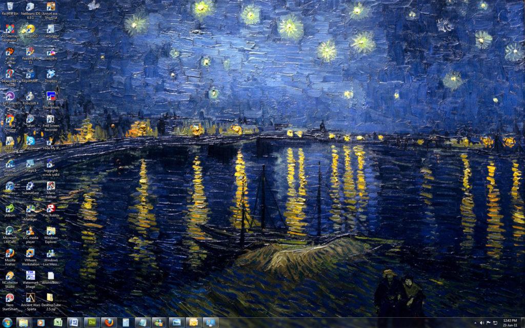 Vincent van Gogh – Win 7 Theme by Windowsthememanager on DeviantArt