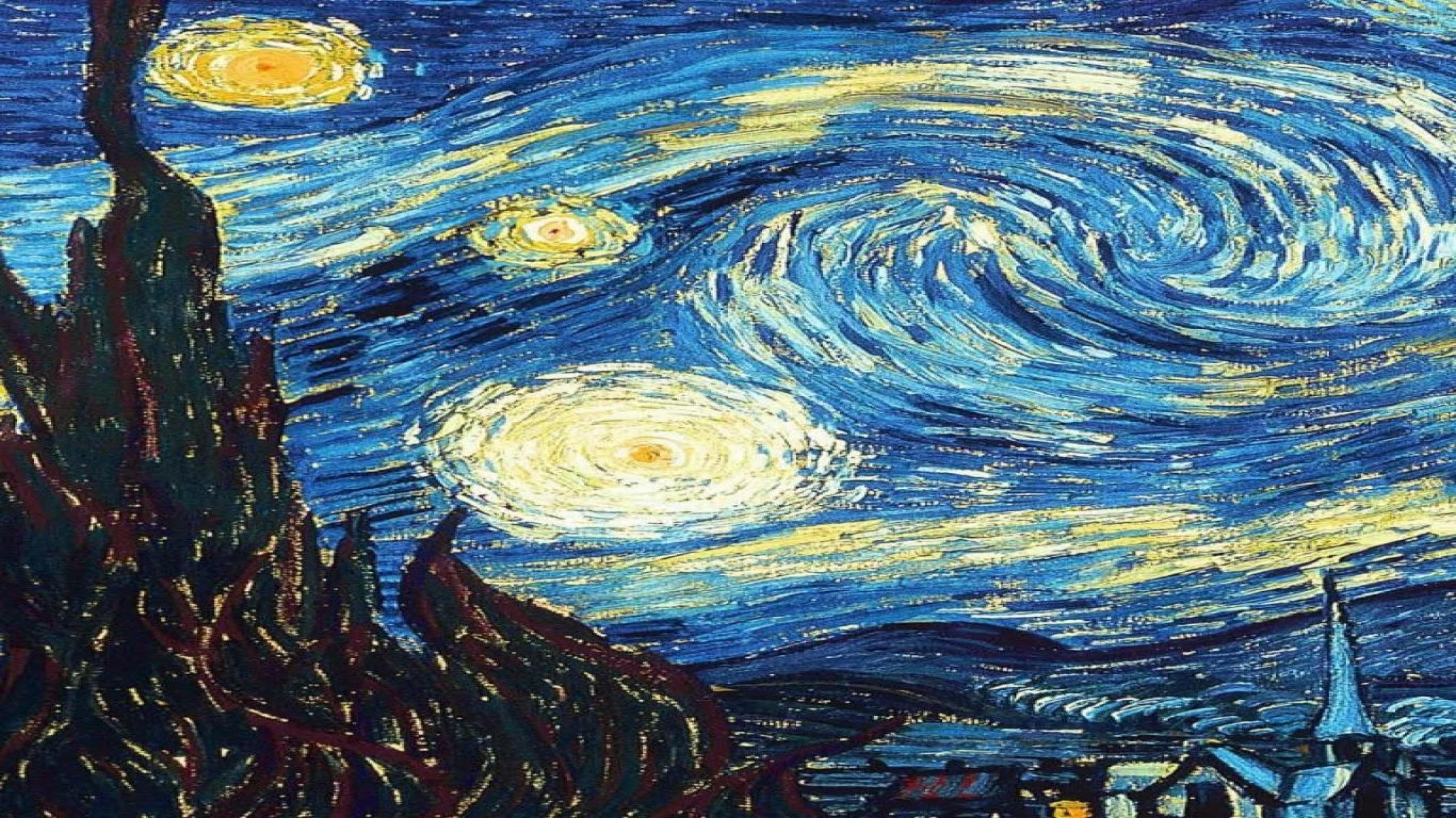 Van Gogh Starry Night Wallpapers 16