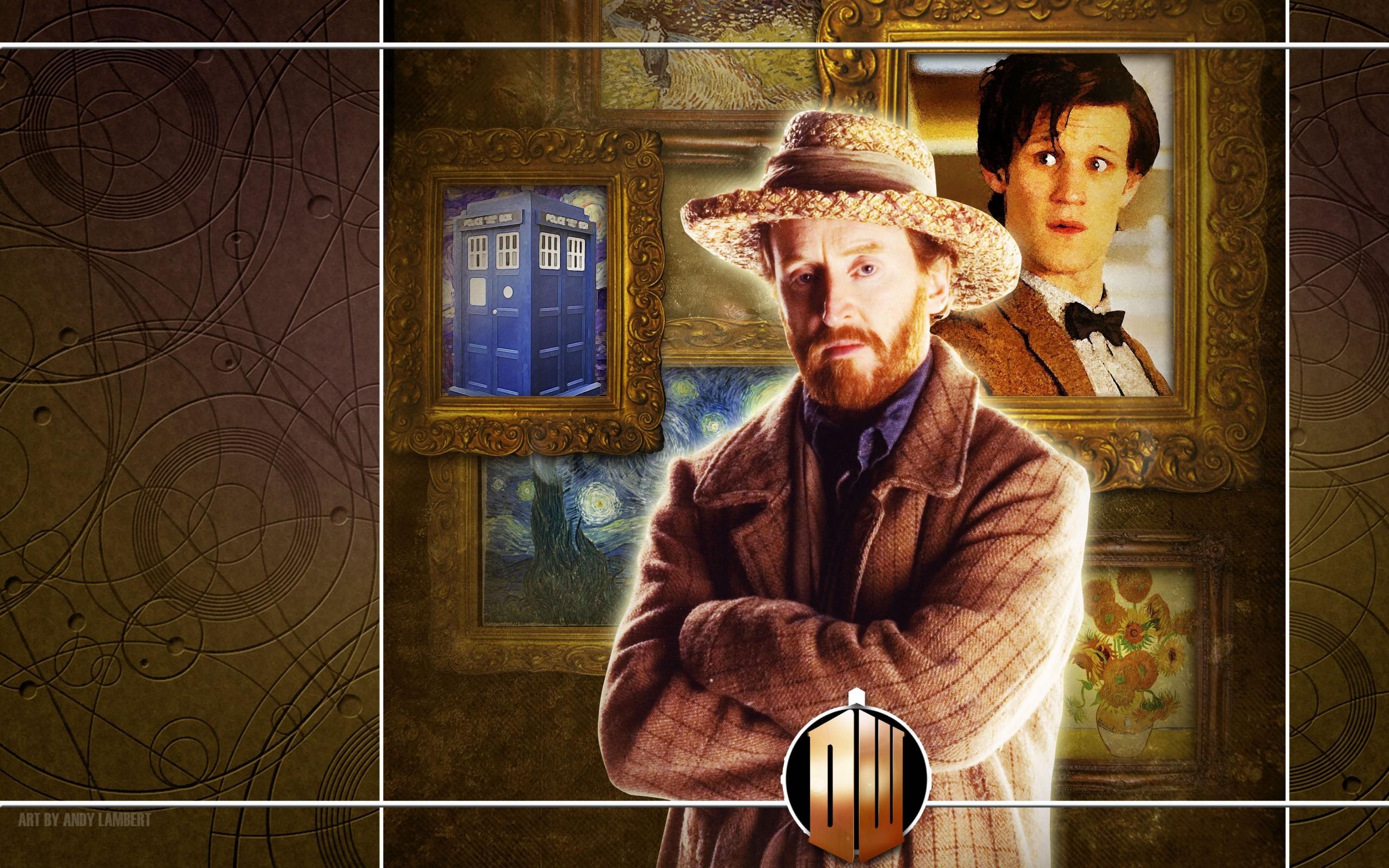matt smith vincent van gogh eleventh doctor doctor who 4850×3031 wallpaper  Art HD Wallpaper
