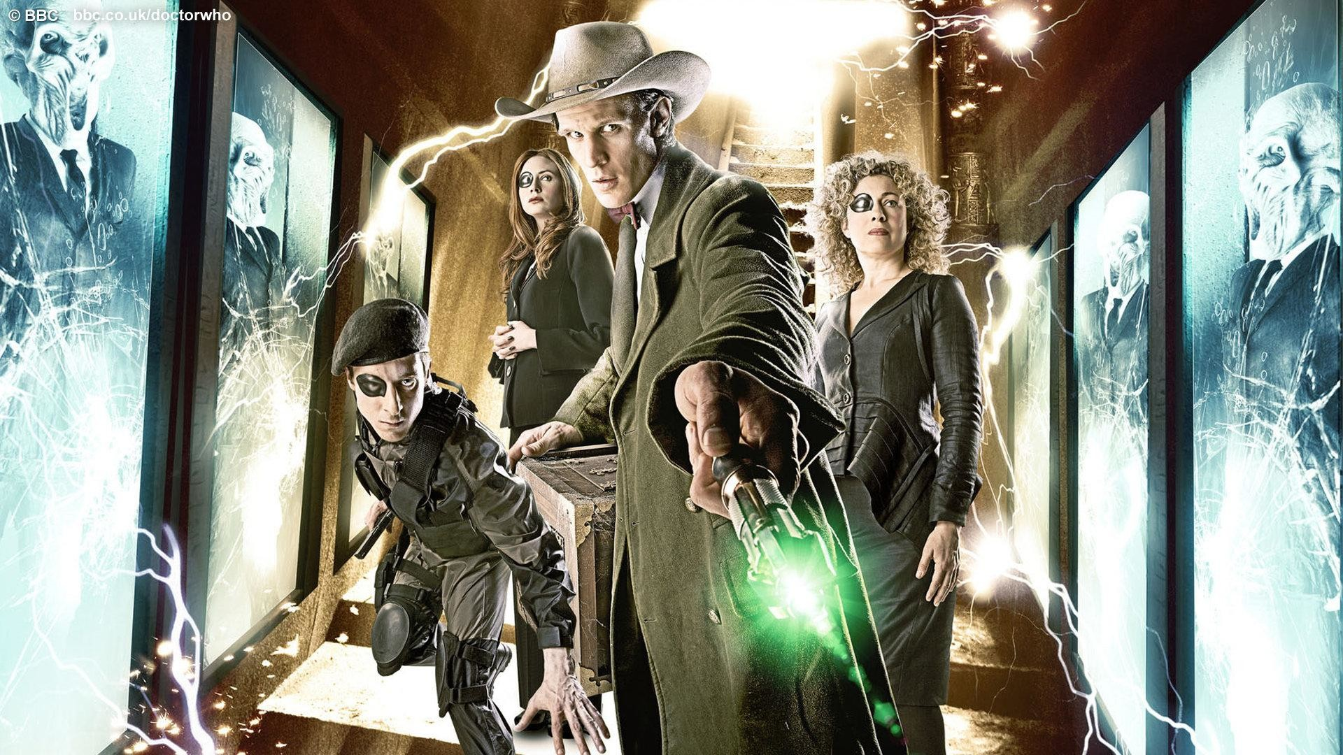 Doctor Who – The Wedding of River Song (wallpaper)