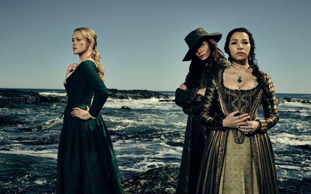 Black Sails Jessica Parker Kennedy Clara Paget Hannah New
