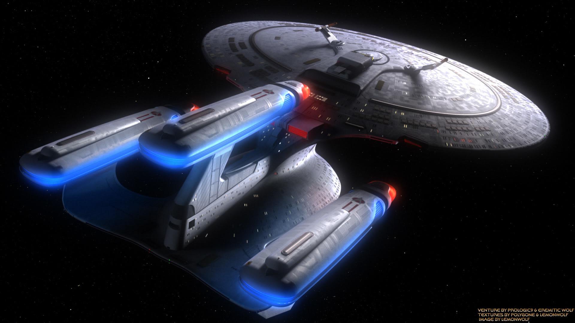 Wallpapers ››Star Trek Galaxy Class Dread Nought
