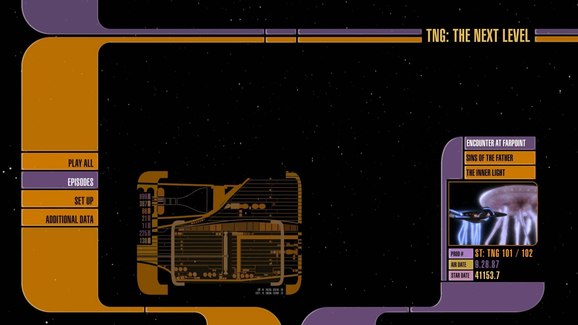 menu. Star Trek: The Next Generation …