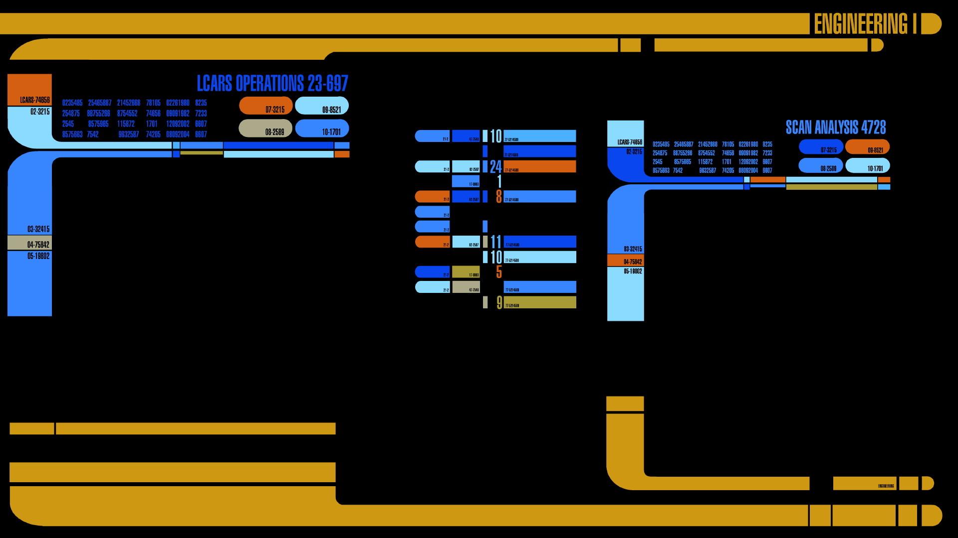 Star Trek Wallpaper Star, Trek, LCARS