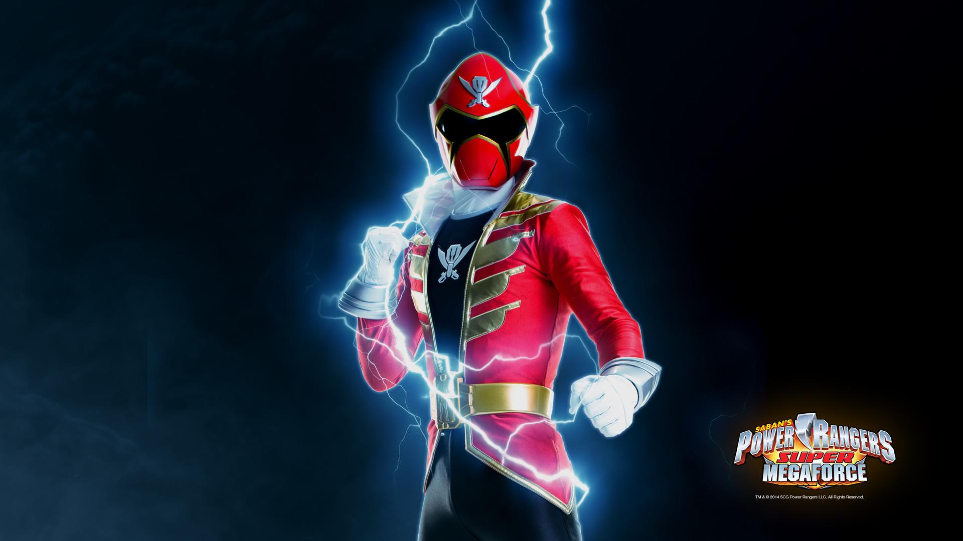 Power Rangers Wallpaper: Super Megaforce Red  Fun Desktop Wallpapers .