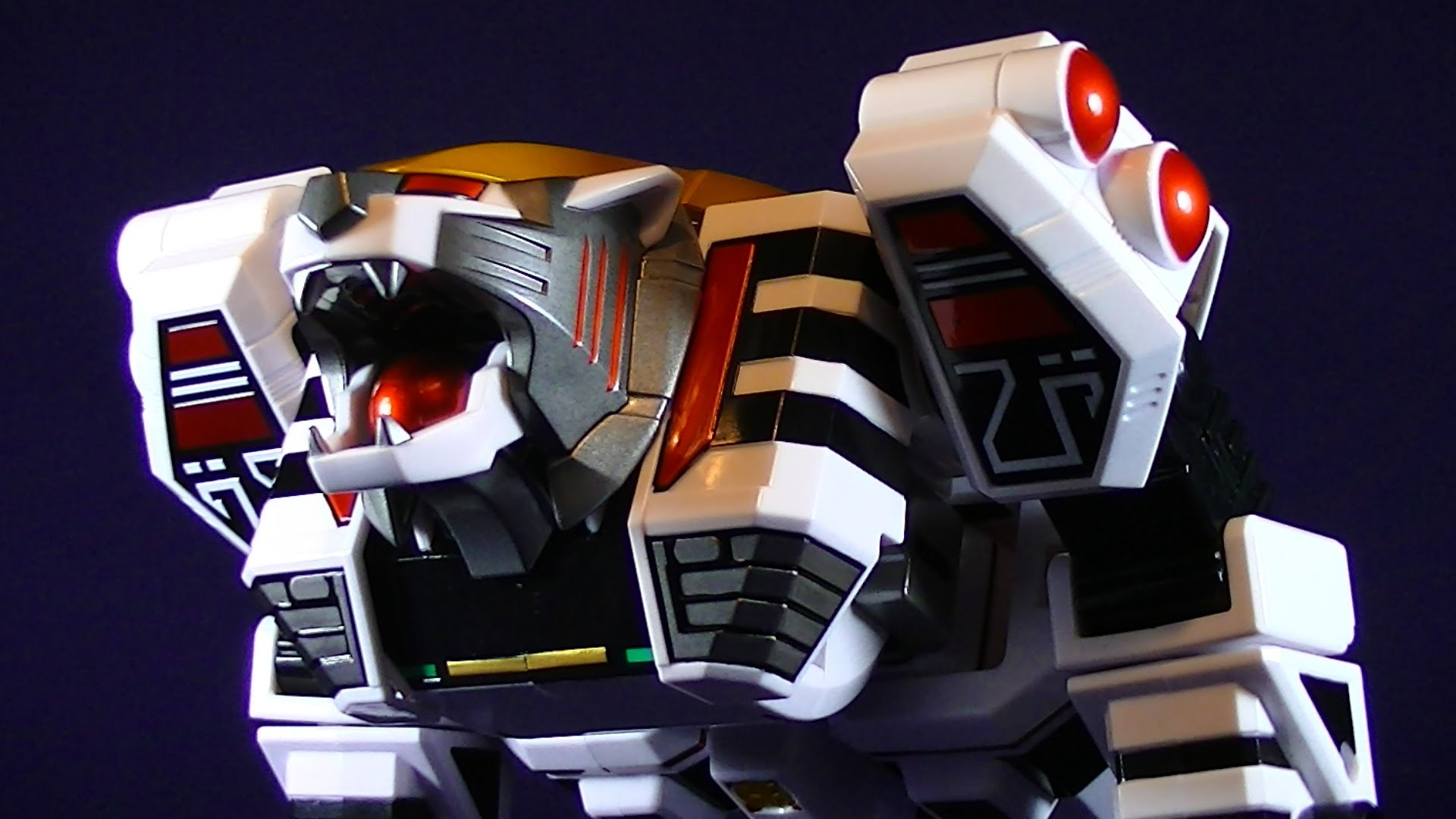 MIGHTY MORPHIN POWER RANGERS LEGACY WHITE TIGERZORD MMPR FIGURE REVIEW –  YouTube