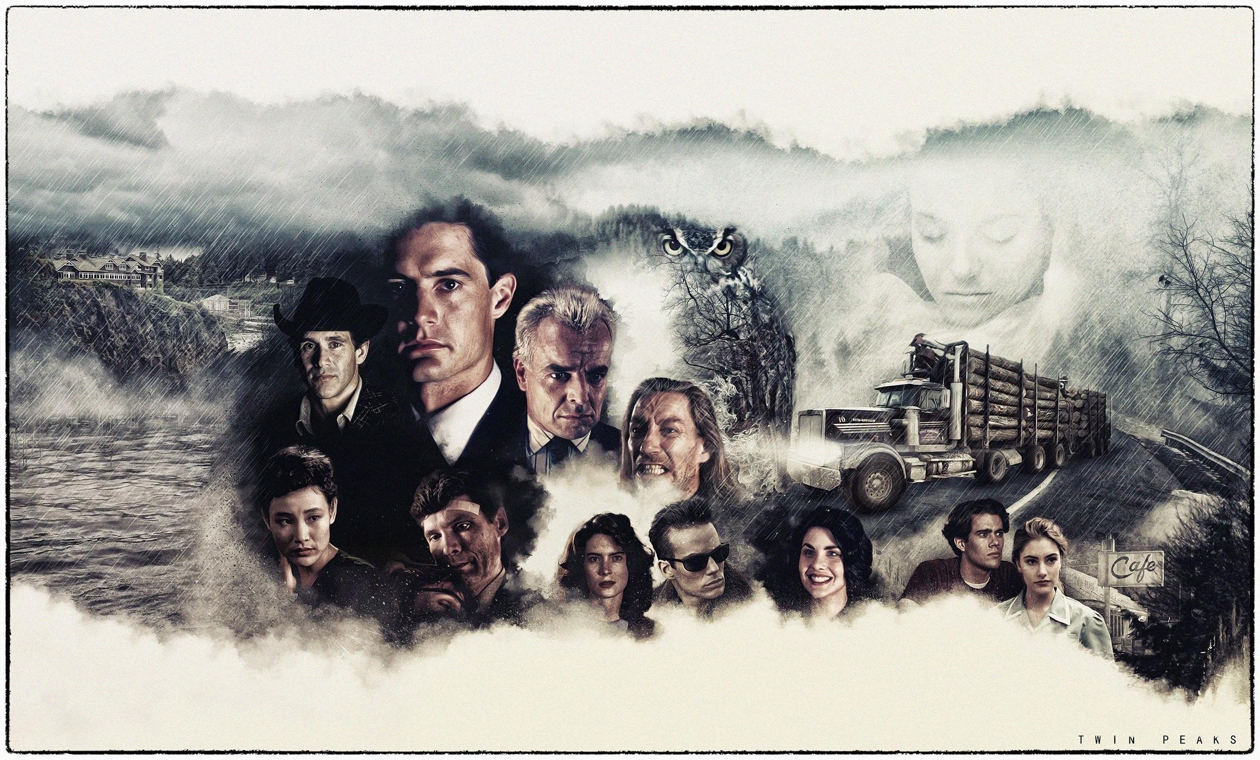 TWIN PEAKS crime drama series mystery fbi 1peaks horror poster wallpaper |  | 939316 | WallpaperUP