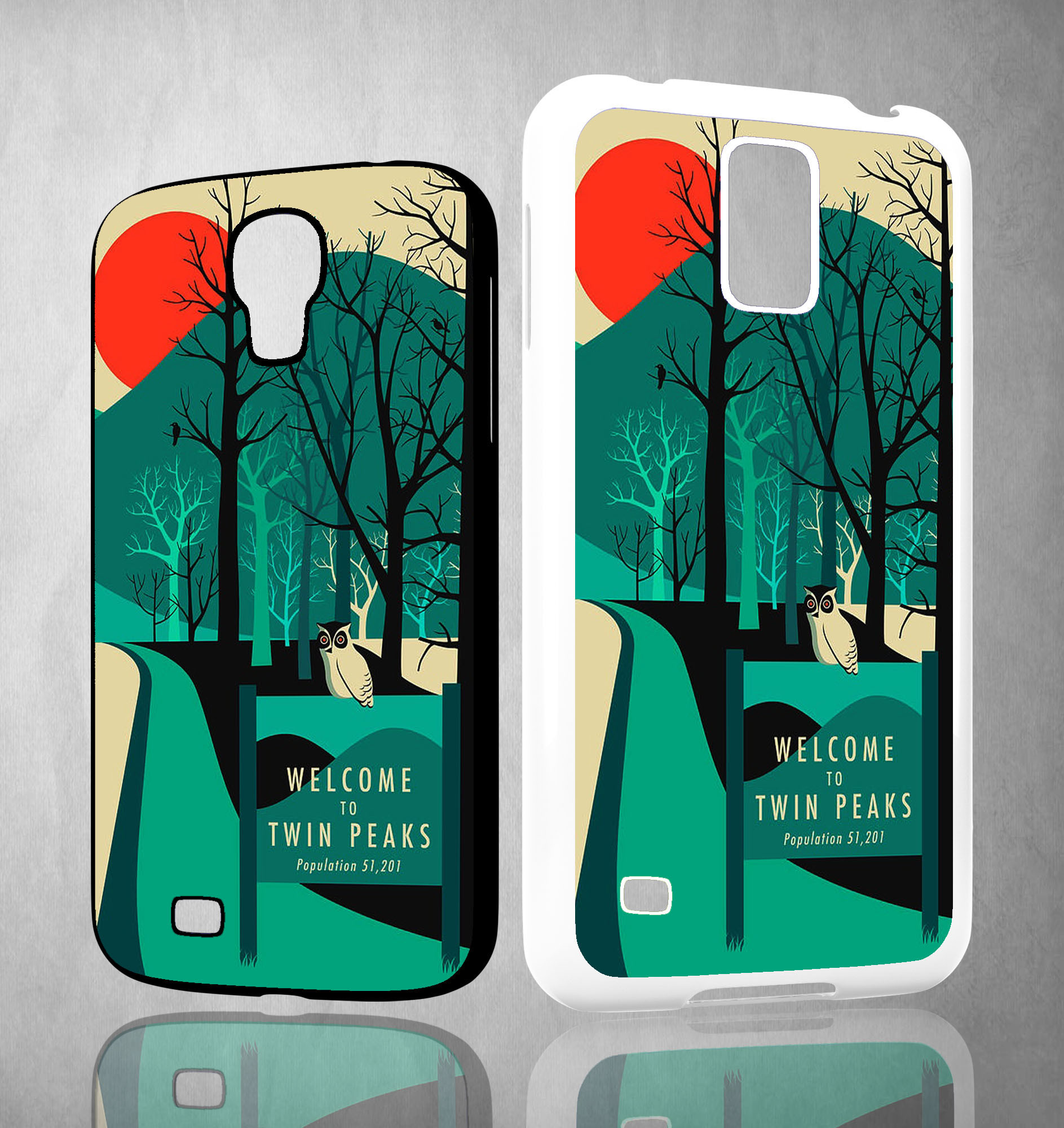 welcome to twin peaks wallpaper Y0980 Samsung Galaxy S3 S4 S5 (Mini) S6 S6