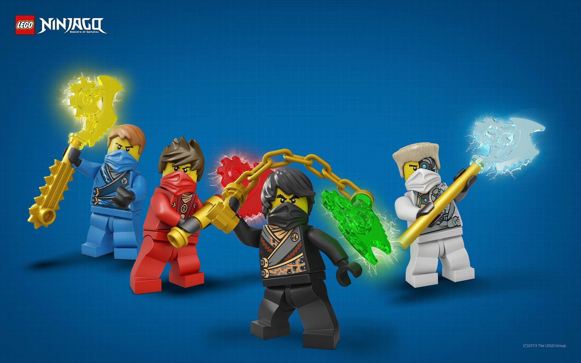 Wallpaper: LEGO Ninjago – Ninjas