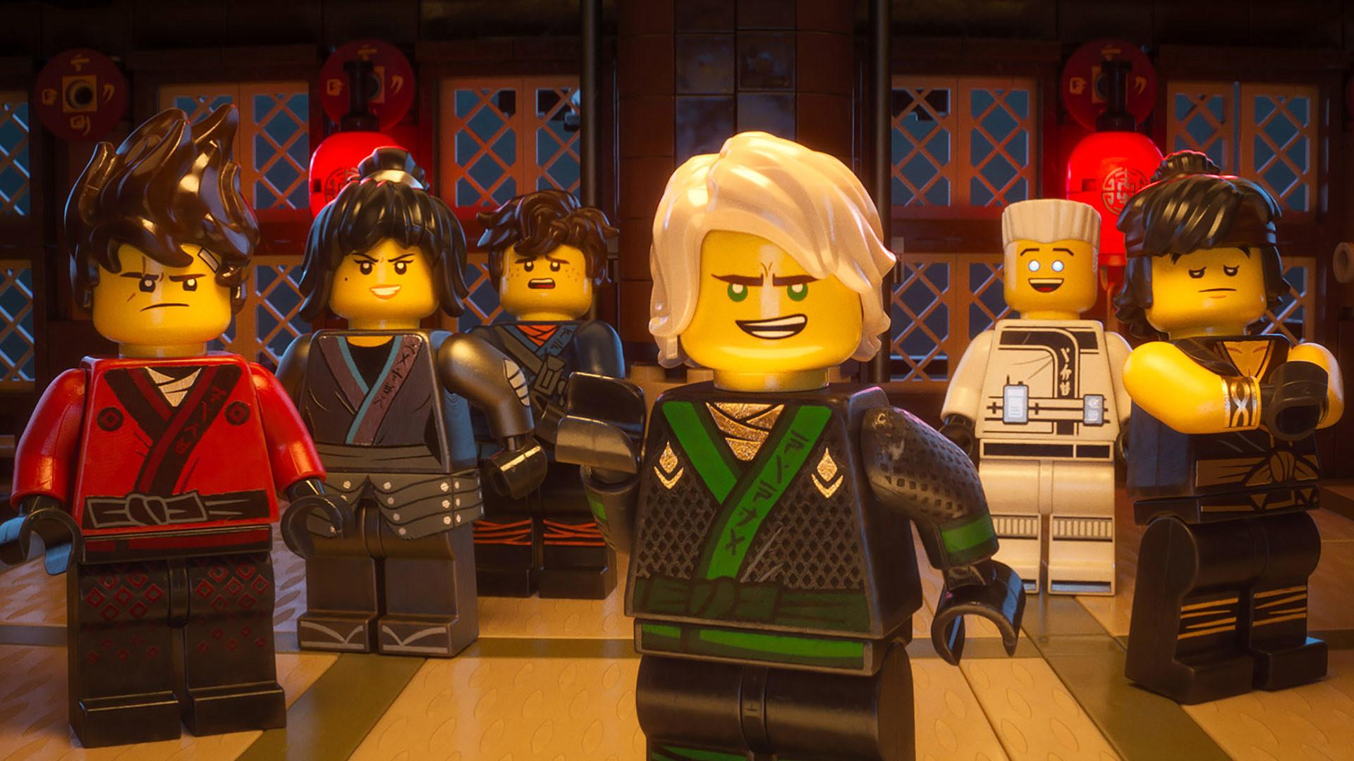 The LEGO Ninjago Movie Wallpaper ninjas