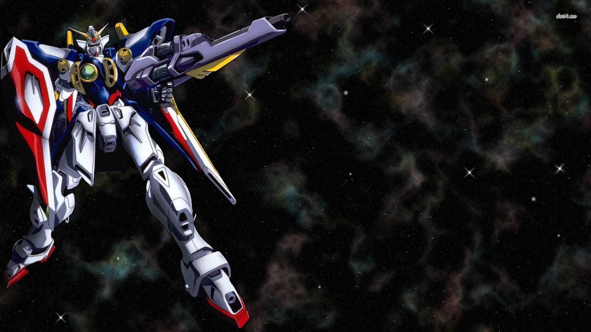 Wallpapers For > Gundam Wing Zero Wallpapers