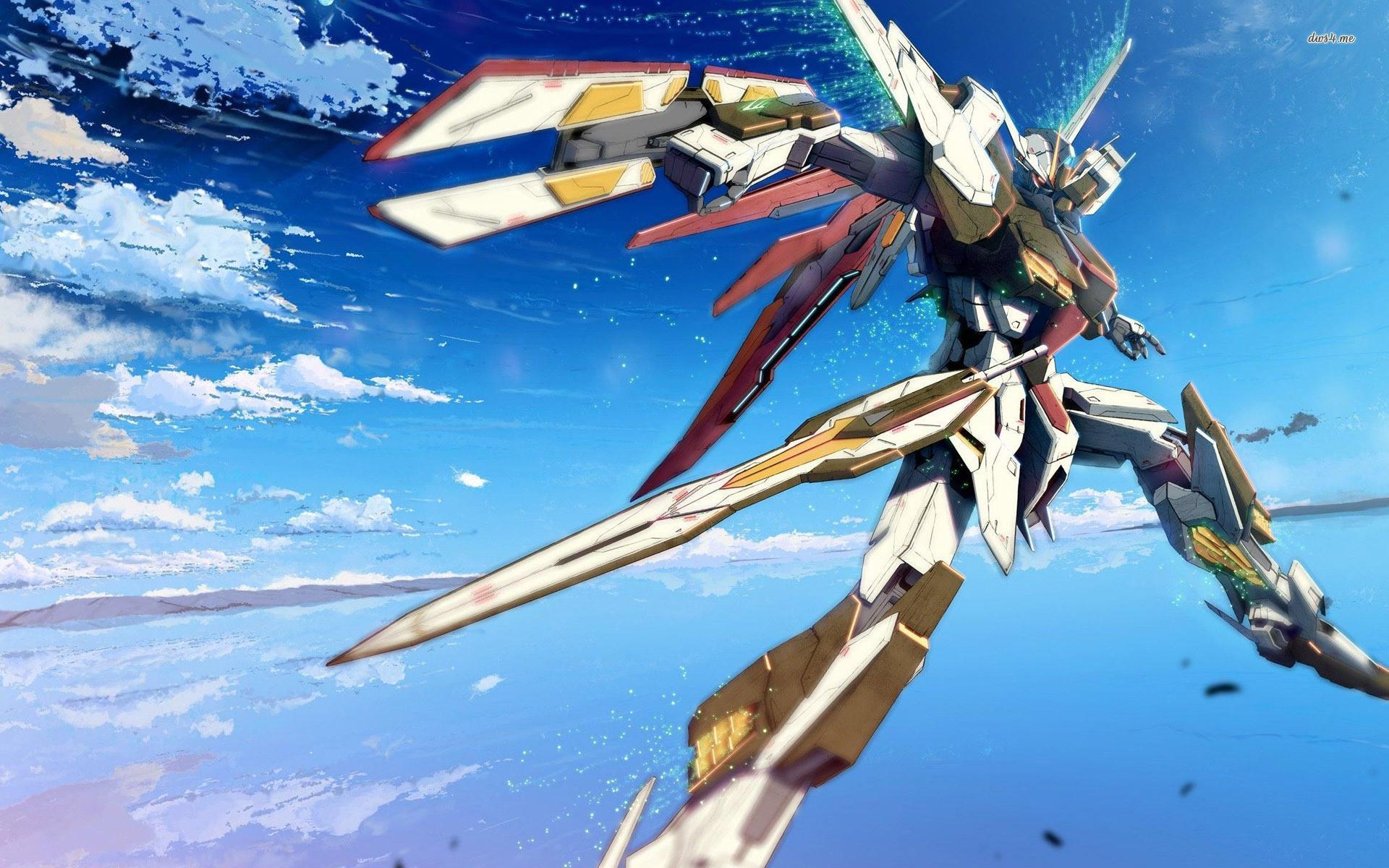 Image GN Gundam Exia Sky The Gundam Wiki   HD Wallpapers   Pinterest    Gundam, Hd wallpaper and Wallpaper