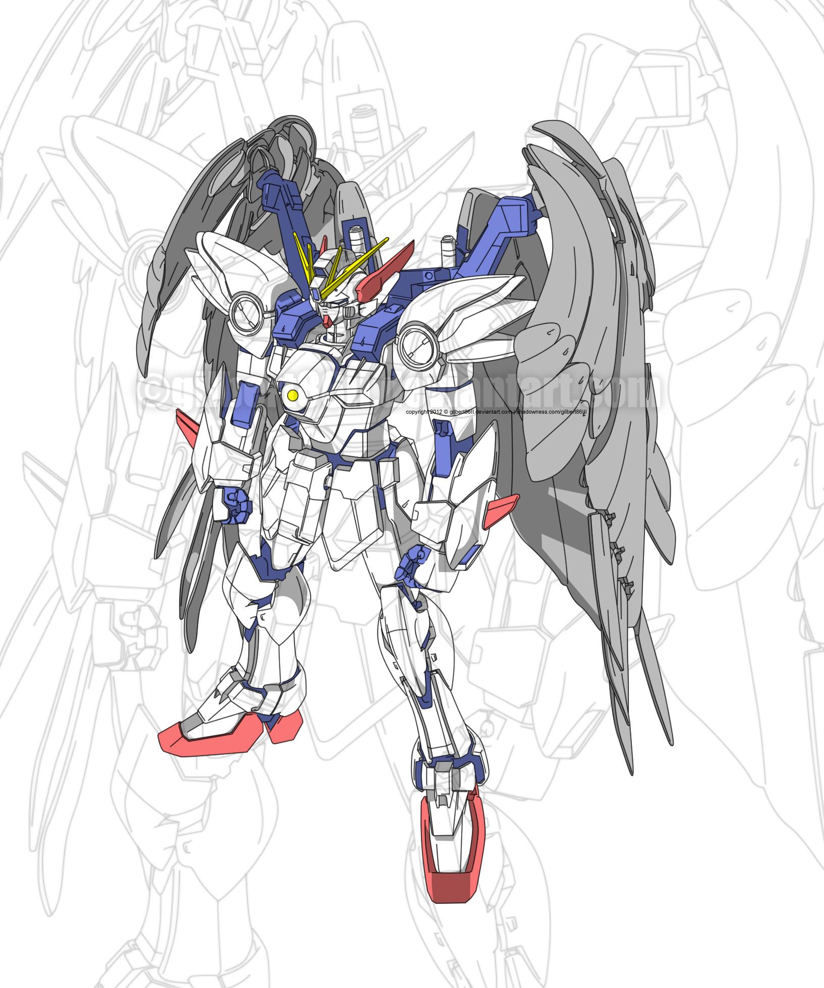 … gundam wing zero custom MG by gilbert86II
