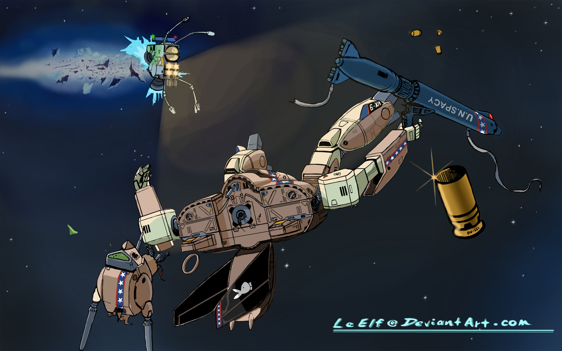 ROBOTECH: Valkyrie Recovery by LeElf ROBOTECH: Valkyrie Recovery by LeElf