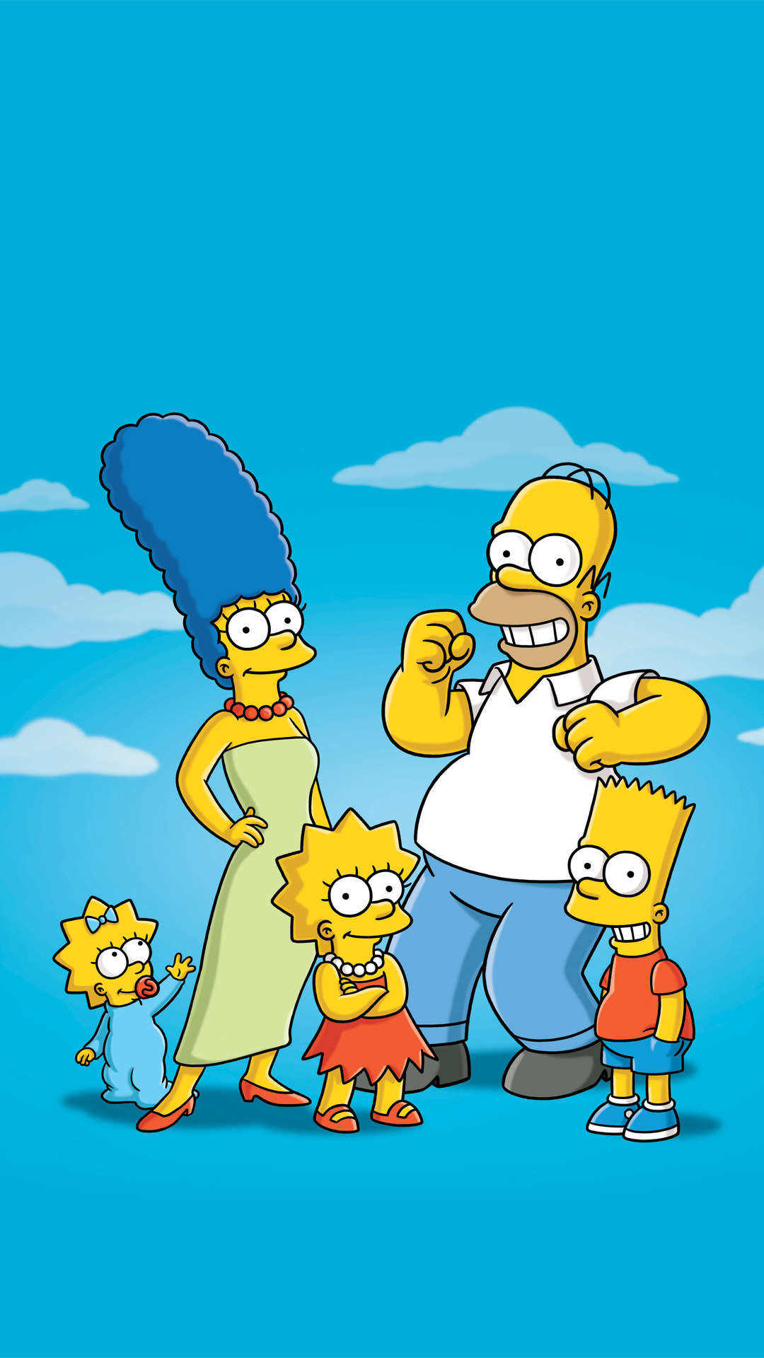 Simpsons Family HTC one wallpaper – Best htc one wallpapers