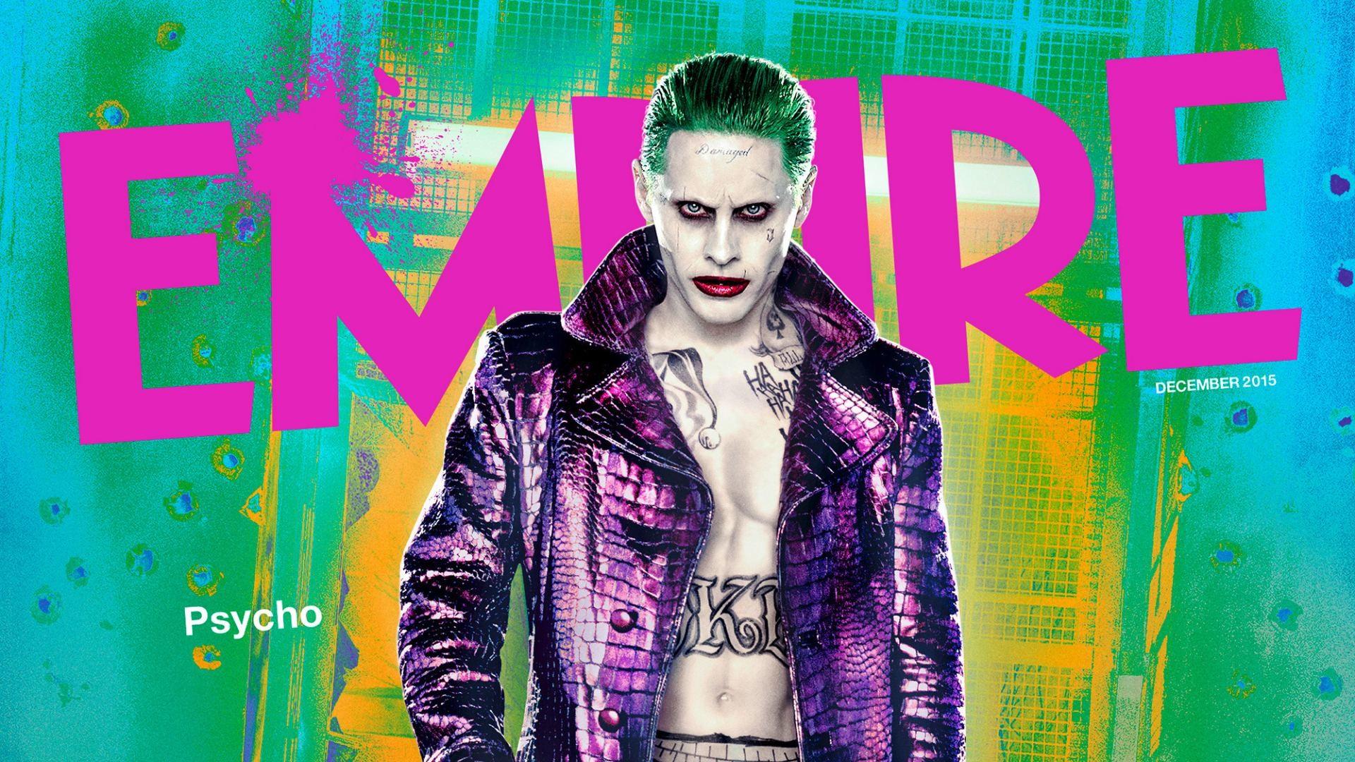 Film – Suicide Squad Film Joker Jared Leto Bakgrund