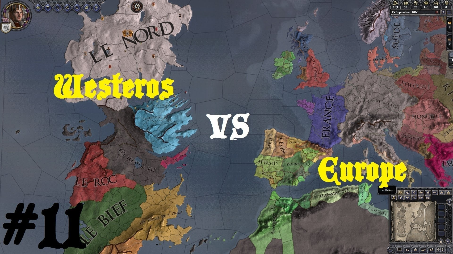 Crusader Kings 2 – Game of Thrones : Westeros vs L'Europe #11 (fin) ! Par  Uneuro – YouTube