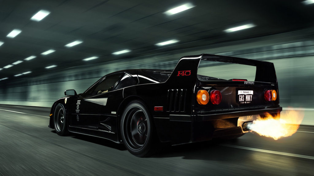 #TBT Gas Monkey Garage (My favorite show other than Top Gear) Ferrari F40