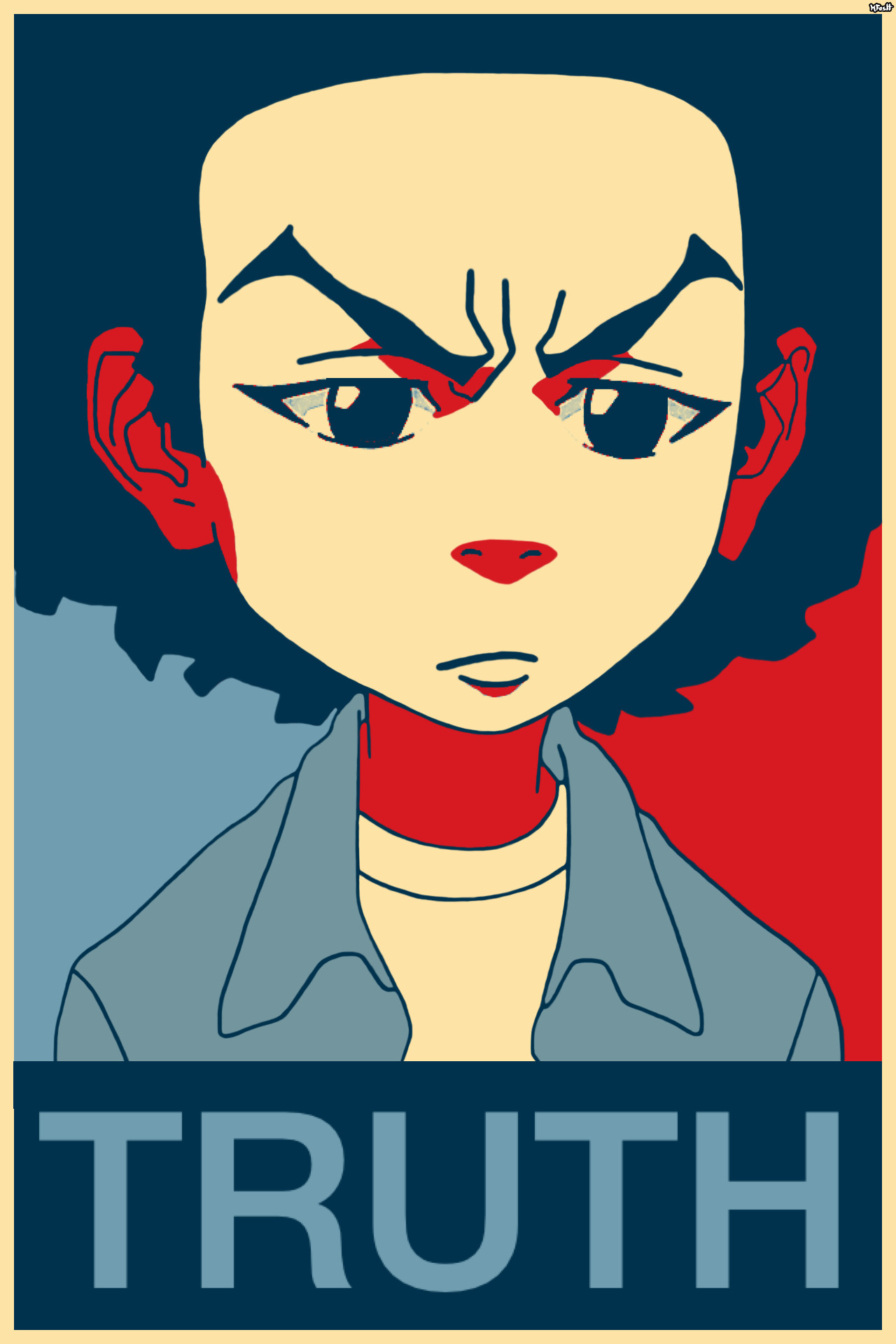 """Huey Freeman Only Speaks The Truth / The Boondocks """"What people need is the  truth"""