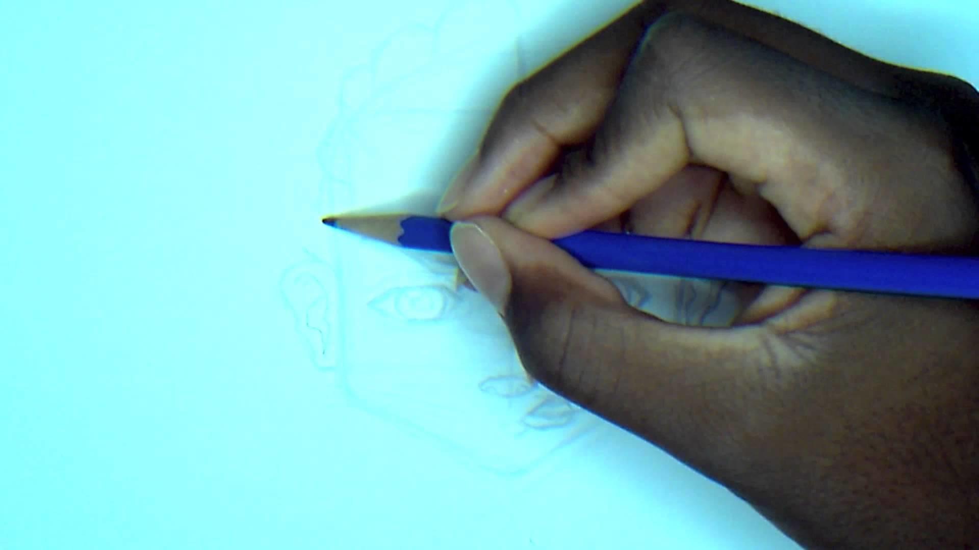 How to draw Riley -Boondocks