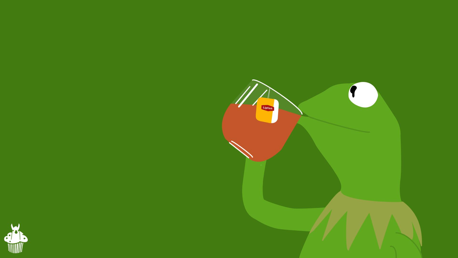 kermit de frog here wallpaper by llamamoofin d96slva 670×377 – 20+ Best HD  Wallpapers For