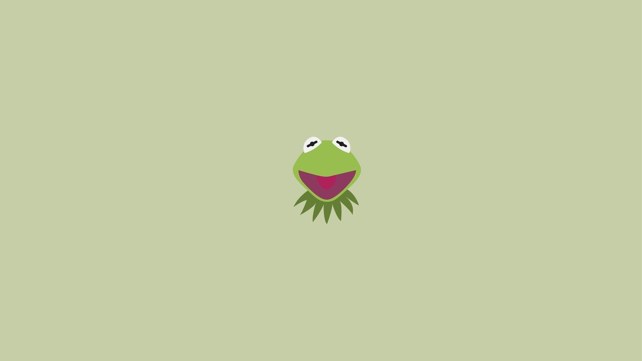 Description: Download Minimalistic kermit the frog artwork 2 wallpaper/desktop  background in HD & Widescreen resolution.