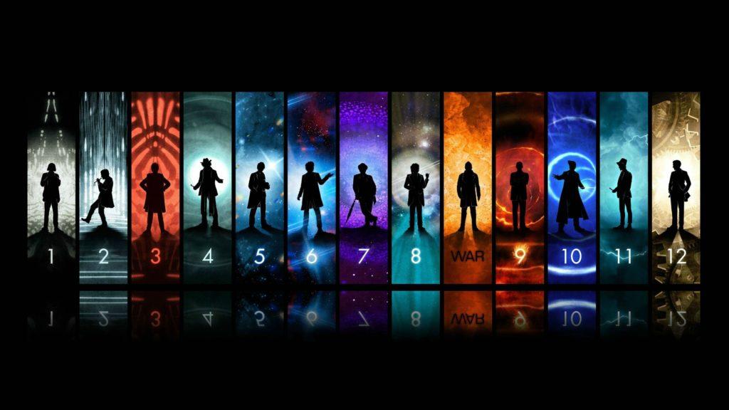 Doctor Who The Doctor TARDIS John Hurt Christopher Eccleston David .
