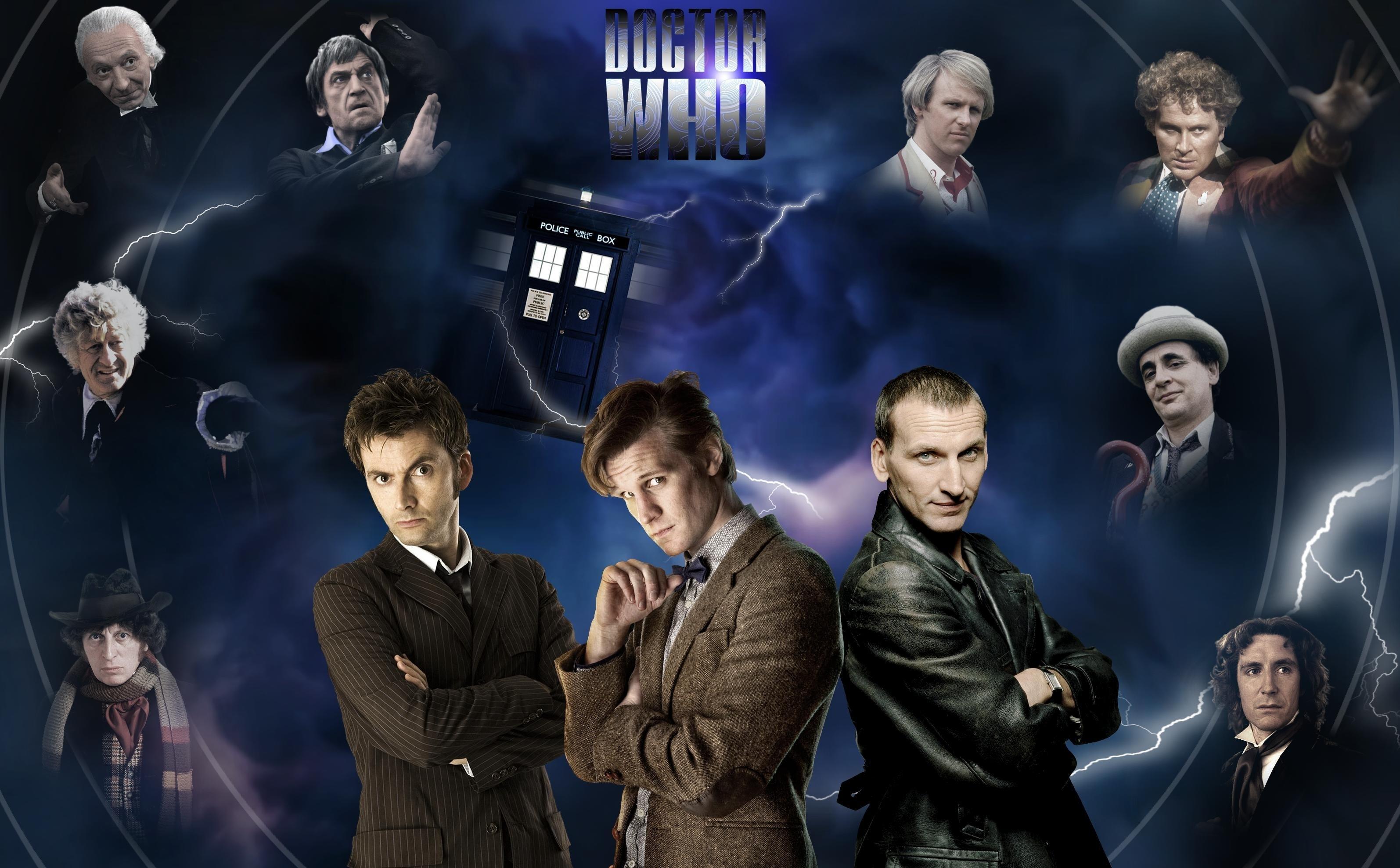 tardis david tennant matt smith fourth doctor tom baker doctors eleventh  doctor paul mcgann doctor w