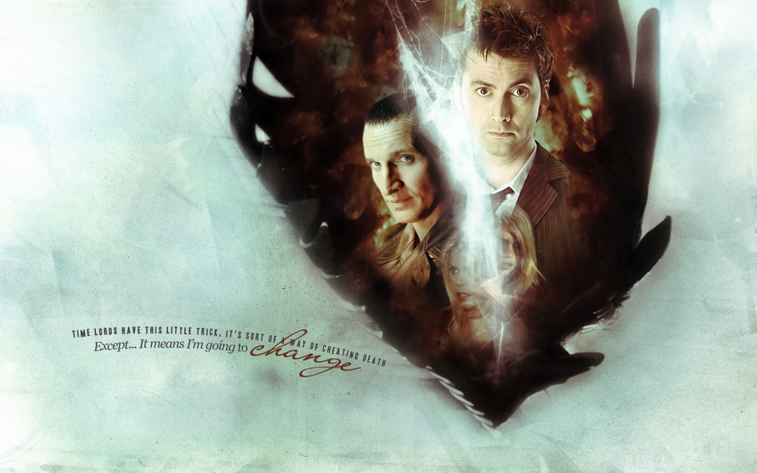 Doctor Who, The Doctor, TARDIS, Christopher Eccleston, David Tennant,  Billie Piper, Tenth Doctor, Quote, Rose Tyler Wallpapers HD / Desktop and  Mobile …