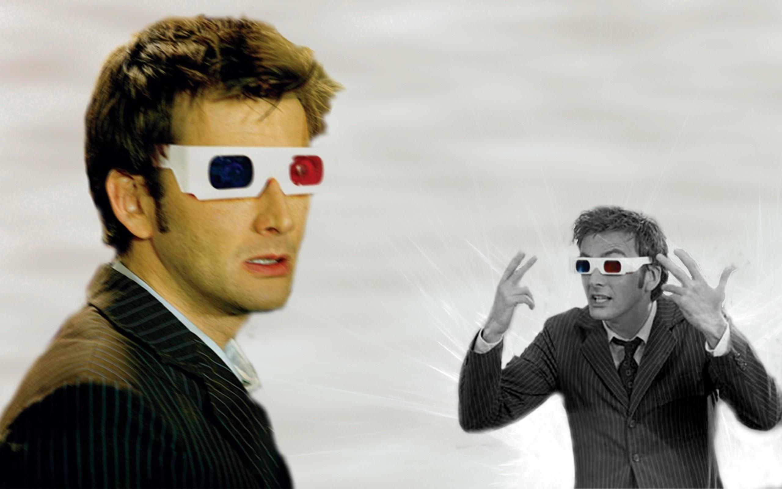 david tennant doctor who tenth doctor 3d glasses 1680×1050 wallpaper Art HD  Wallpaper
