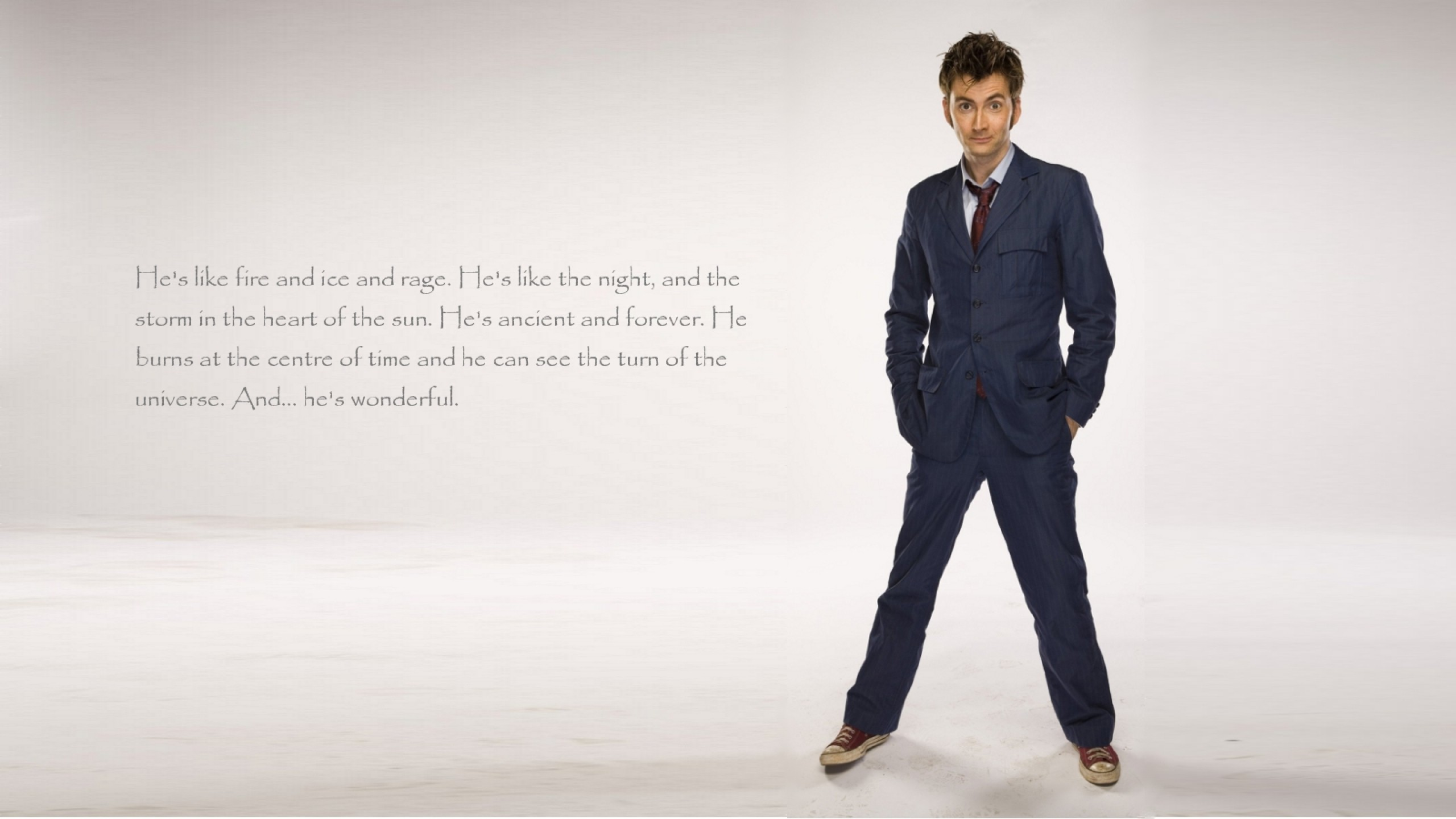 Doctor Who, The Doctor, TARDIS, David Tennant, Tenth Doctor, Quote  Wallpapers HD / Desktop and Mobile Backgrounds