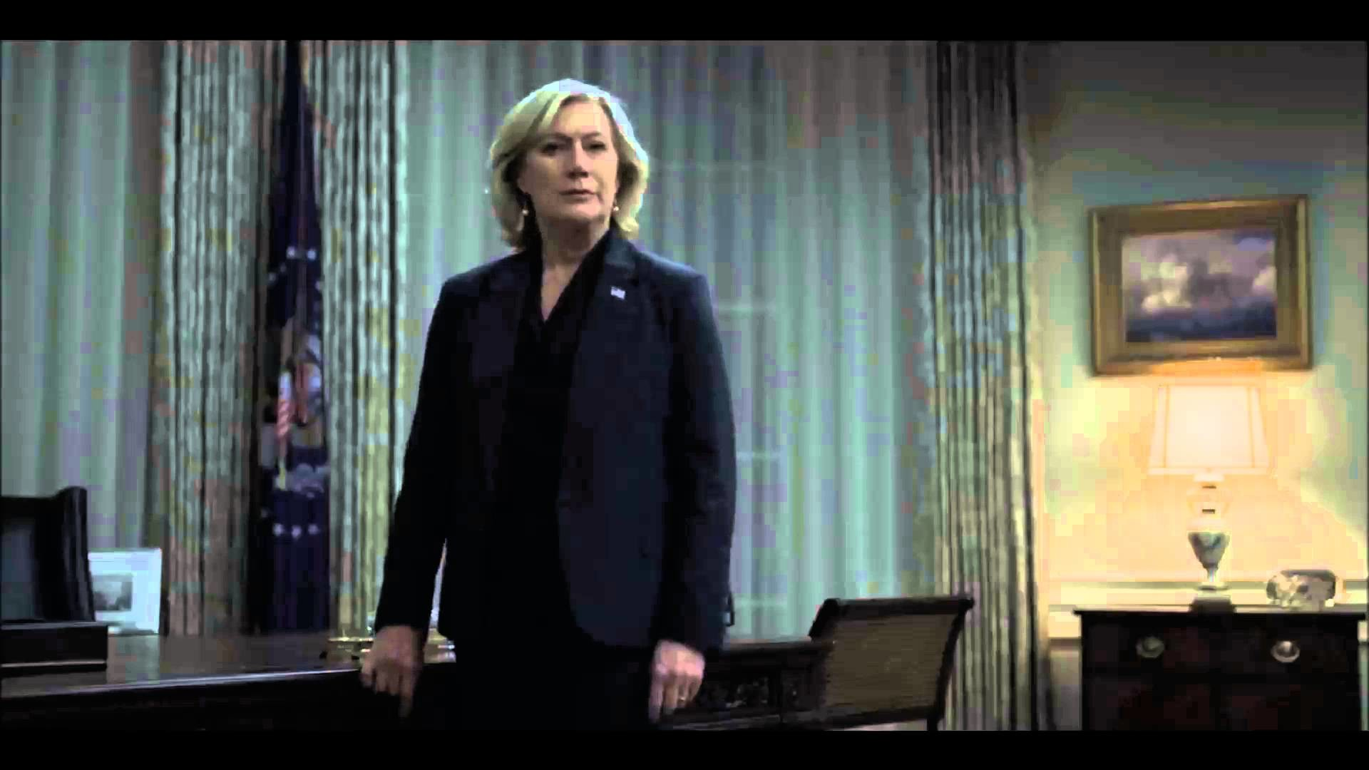 House of Cards: Season 4 Frank threatens Durant