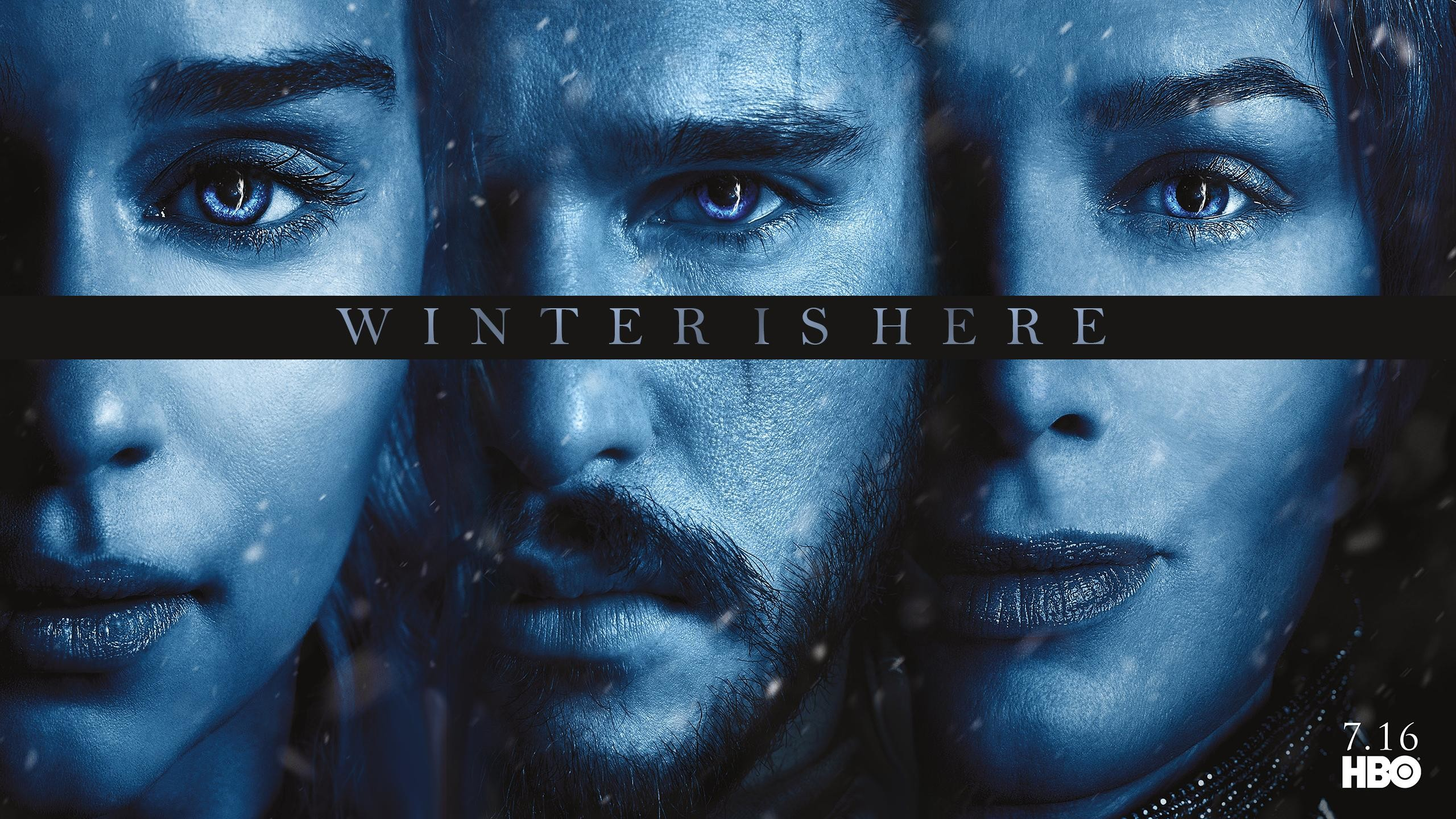 Limited[S7] Game Of thrones Season 7 Posters Wallpaper 2560 x 1440 (1080p  in comments) …