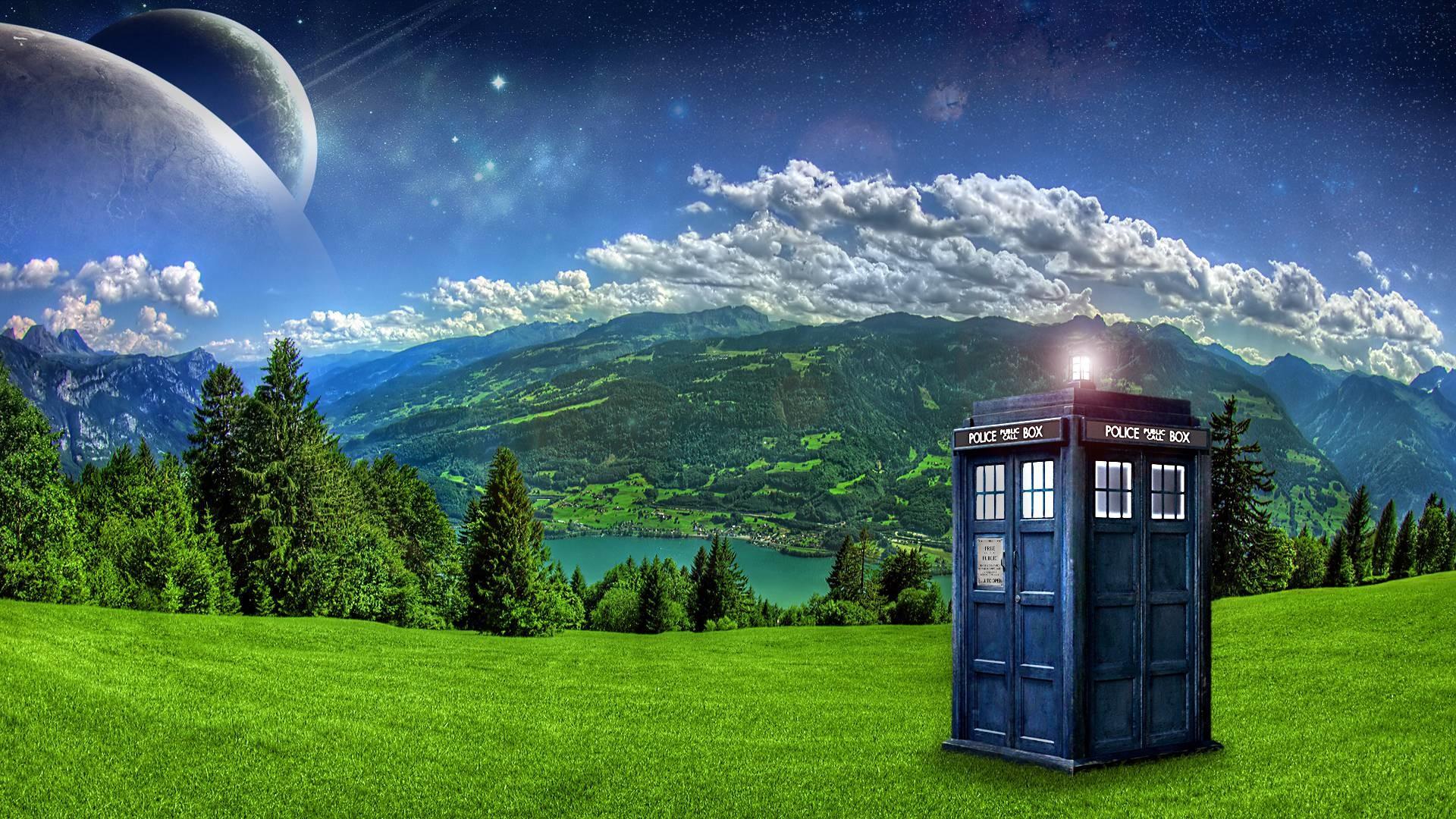 Landscapes tardis doctor who desktop hd wallpaper – 1534430