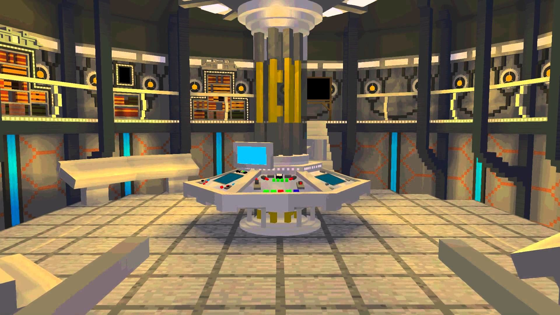Minecraft Doctor Who – The 2014 Tardis Teaser