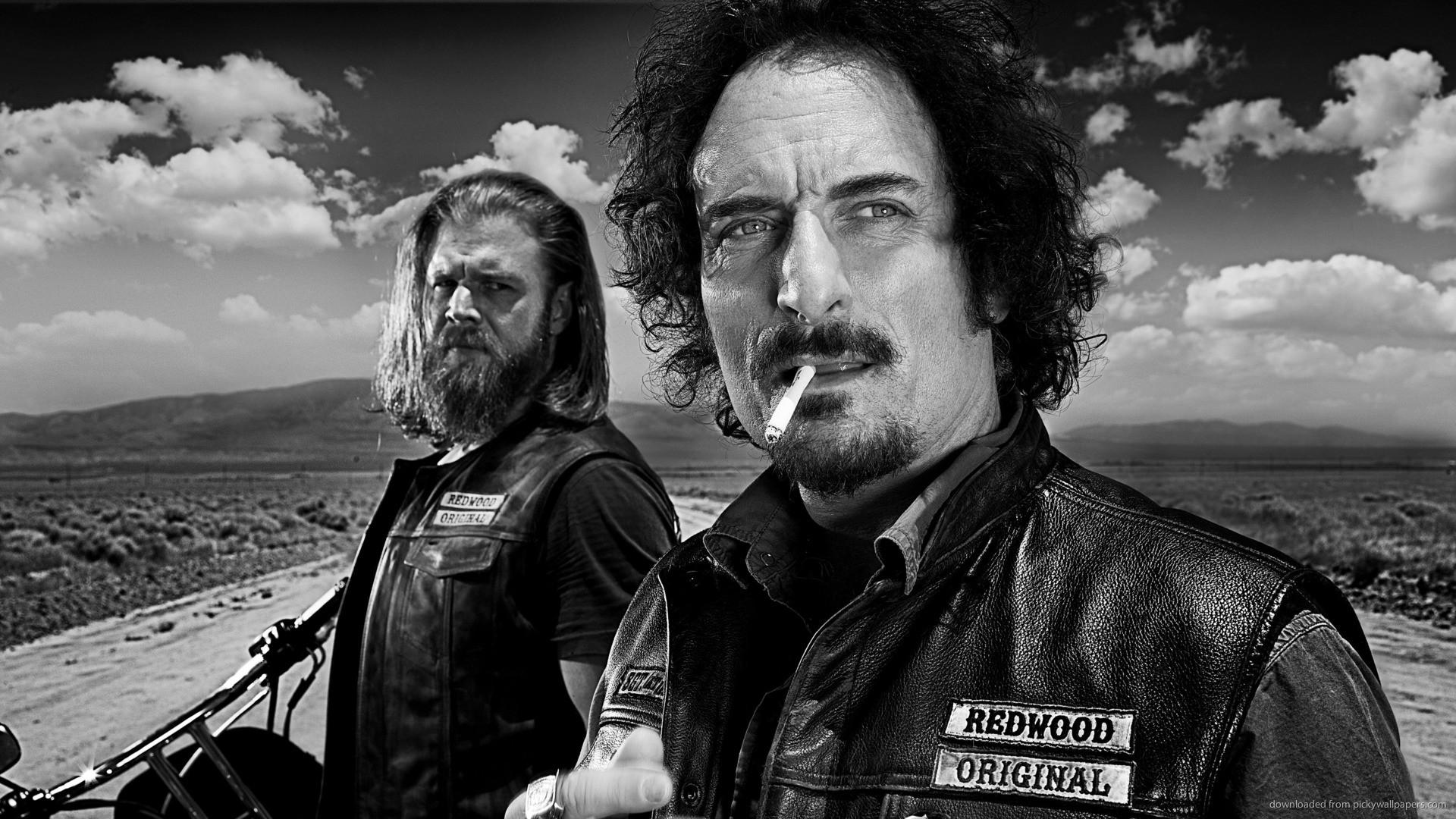 Sons Of Anarchy Tig And Opie picture